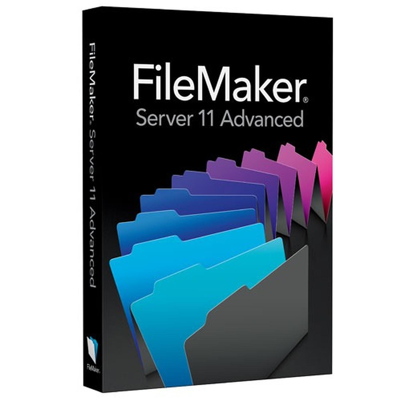 Filemaker Server 11 Advanced - Mise à jour