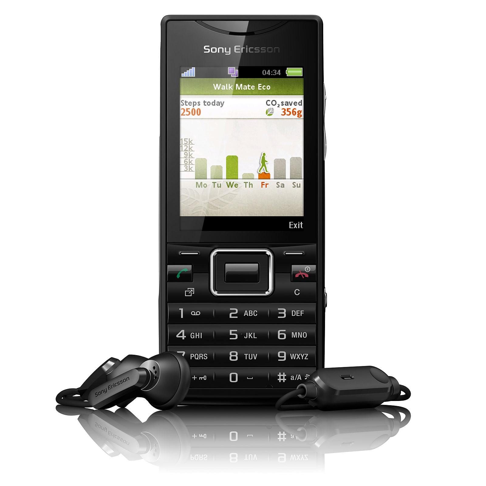 Sony Ericsson Elm Noir métal
