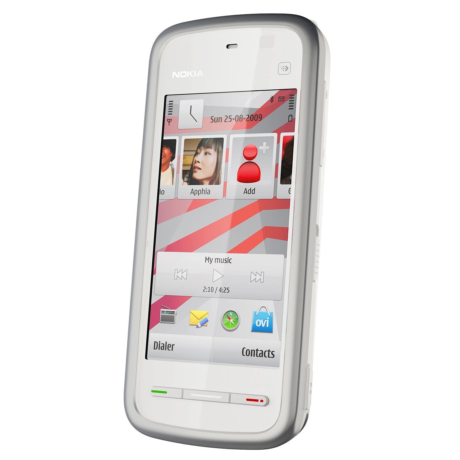 Nokia 5230 Navigation Blanc/argent