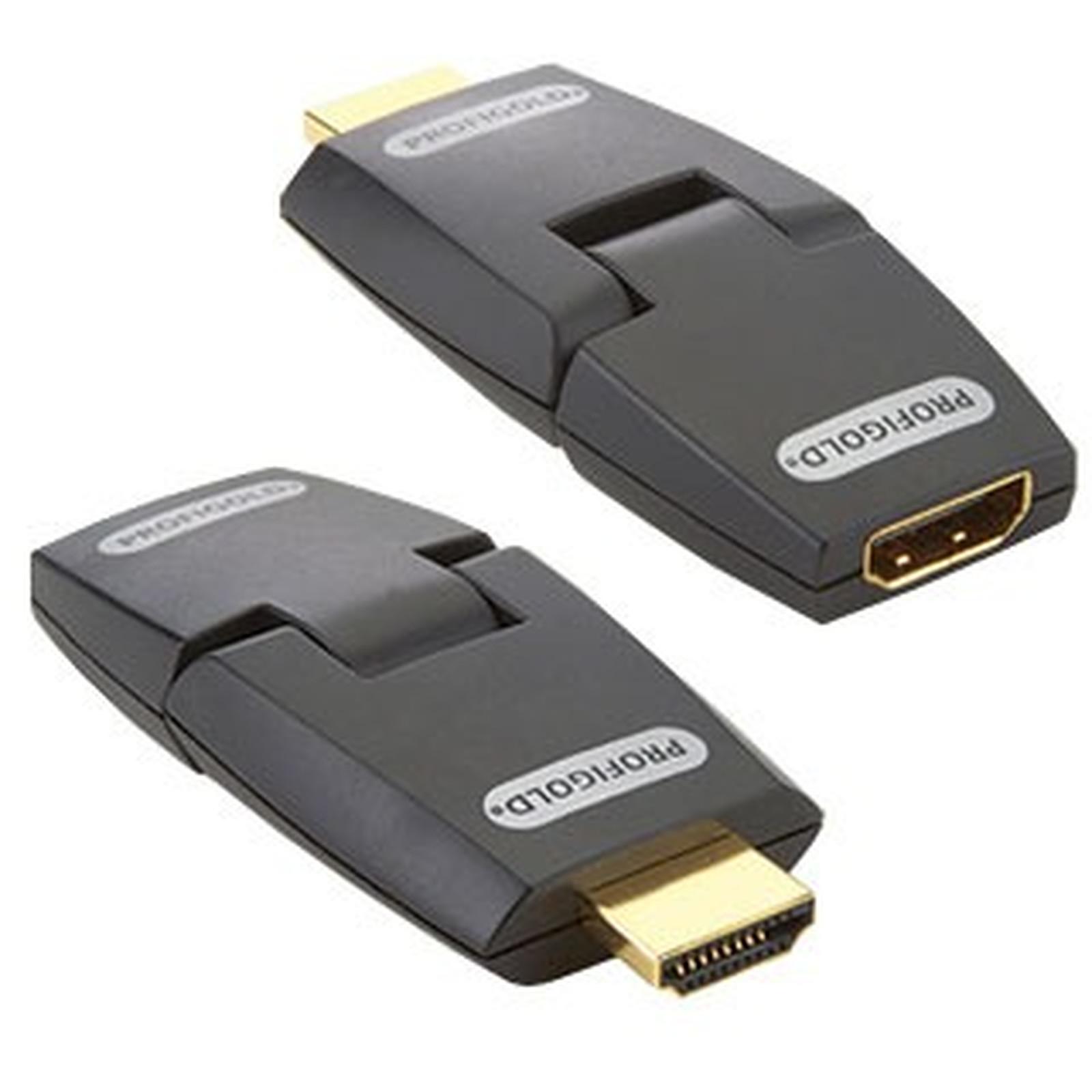 Profigold Adaptateur pivotant HDMI 1.3 Femelle/Mâle