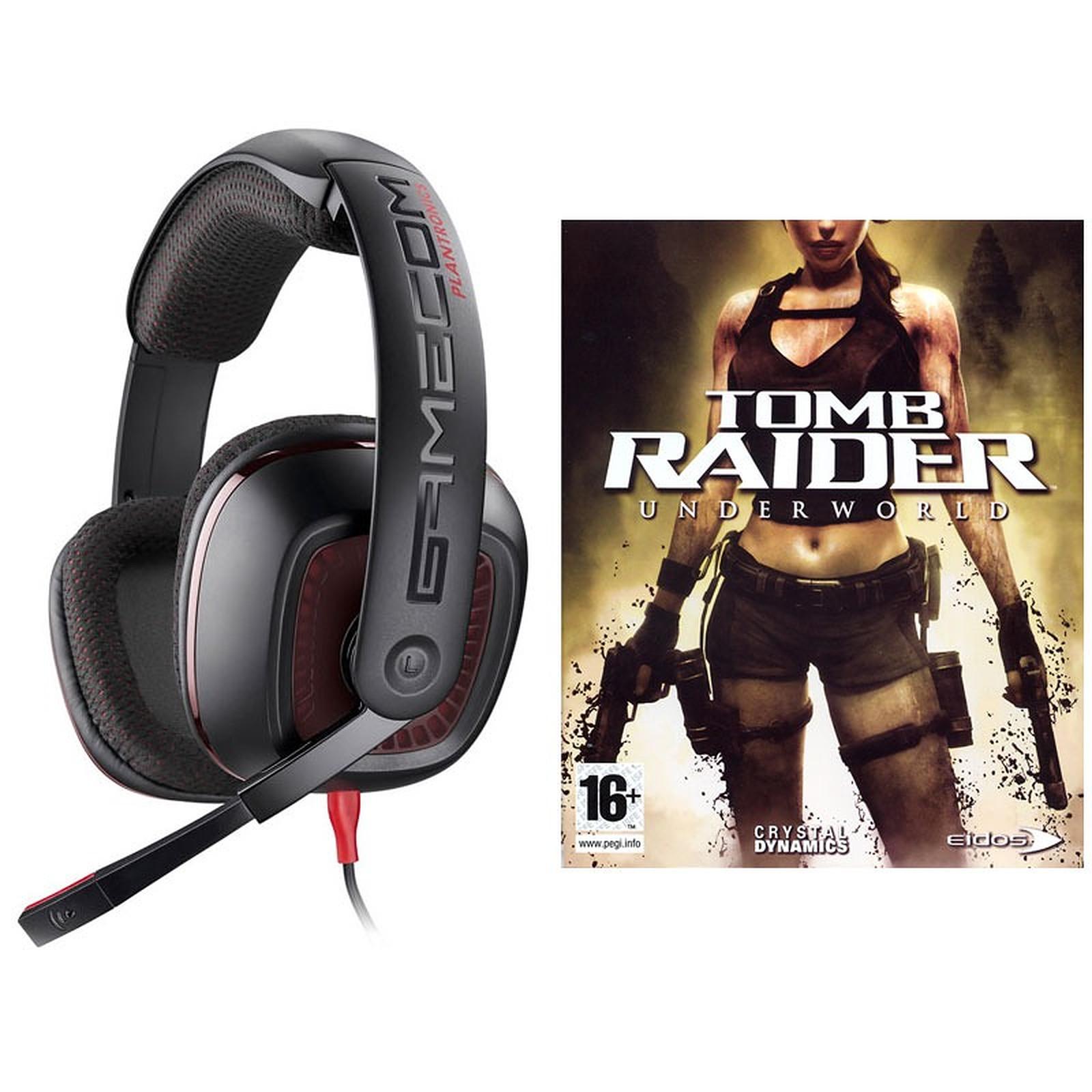 Plantronics GameCom 367 + Tomb Raider Underworld