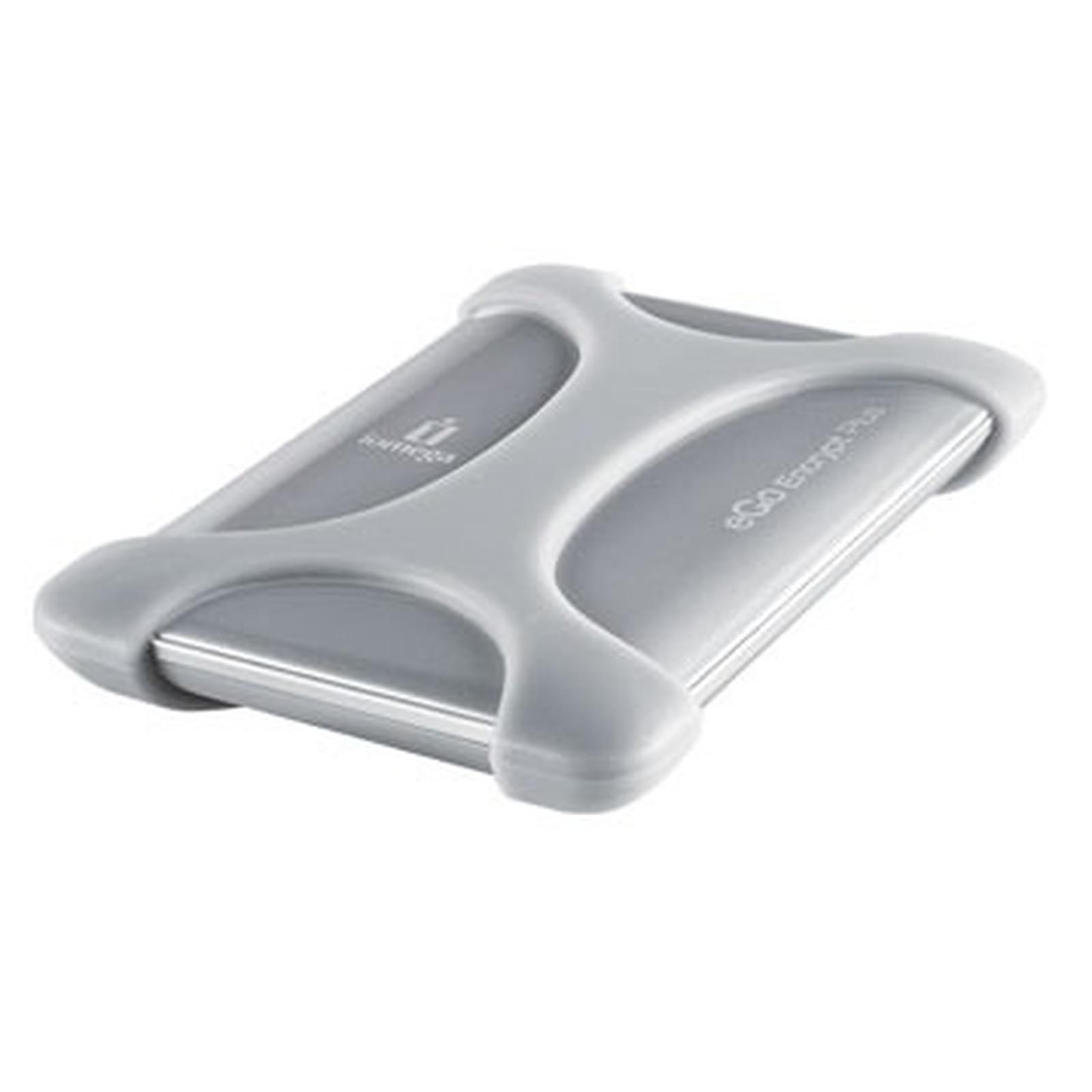 Iomega eGo Encrypt Plus Portable Hard Drive 500 GB USB 2.0 Argent