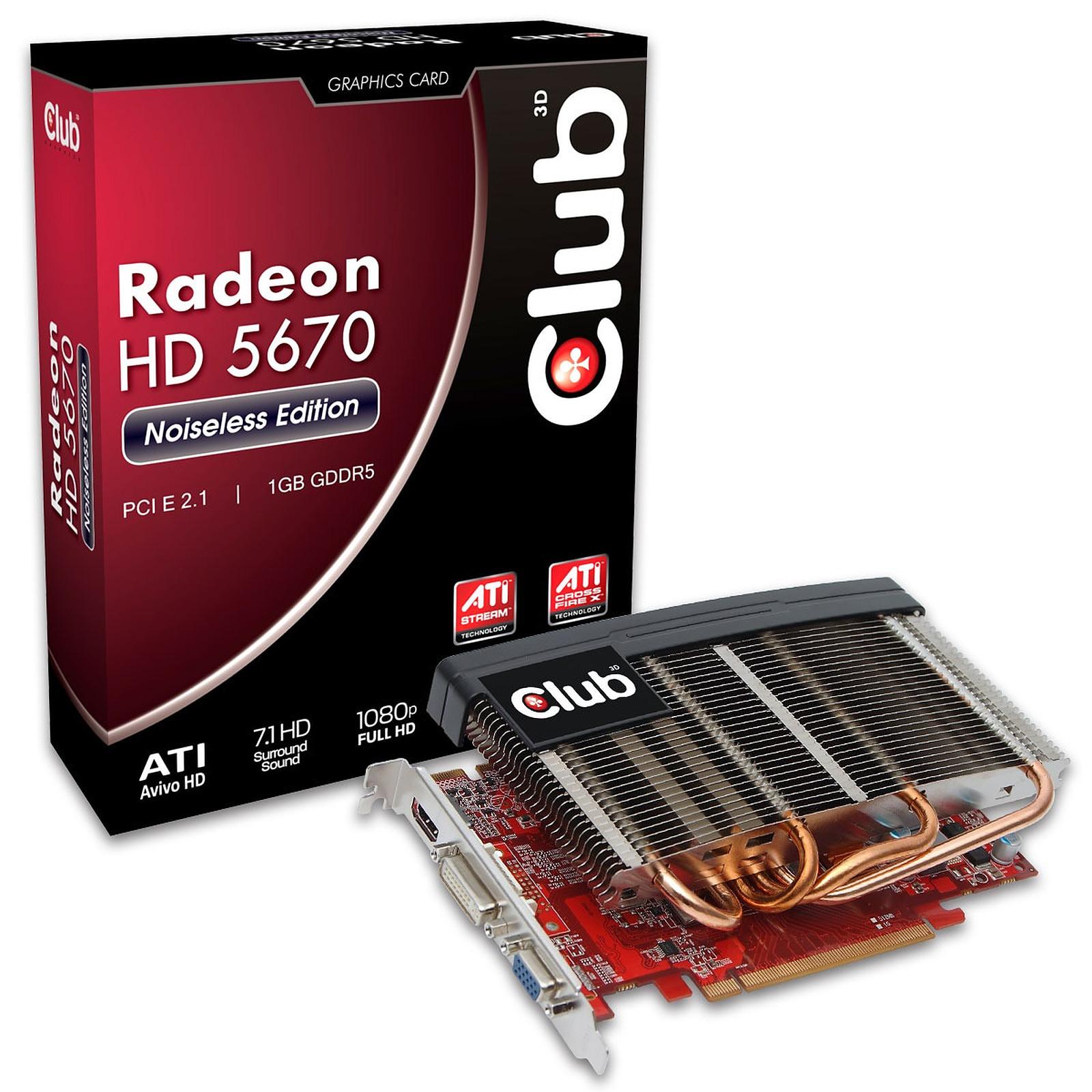 Club 3D Radeon HD 5670 Noiseless Edition 1024 MB