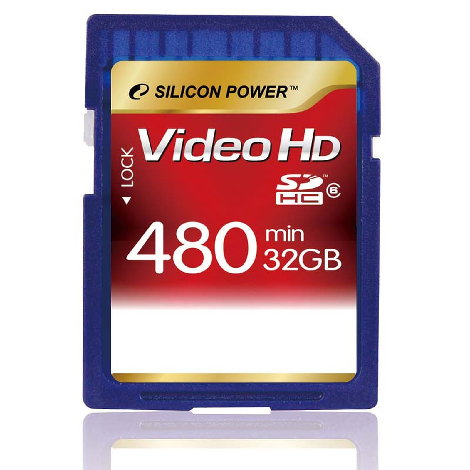 Silicon Power Secure Digital High Capacity Full HD Video Card 32 GB Class 6