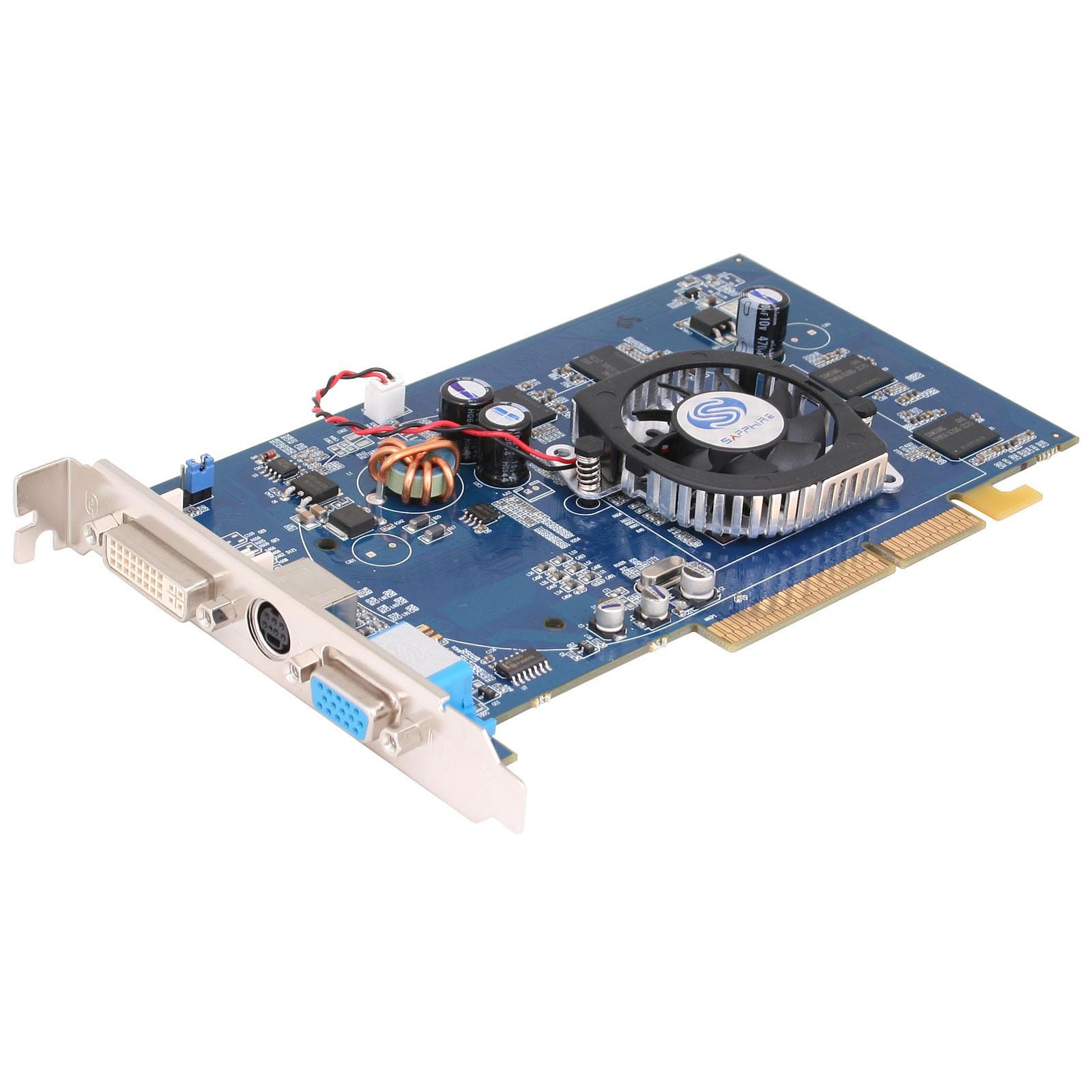 Sapphire Radeon 9550 - 256 Mo TV-Out/DVI - AGP