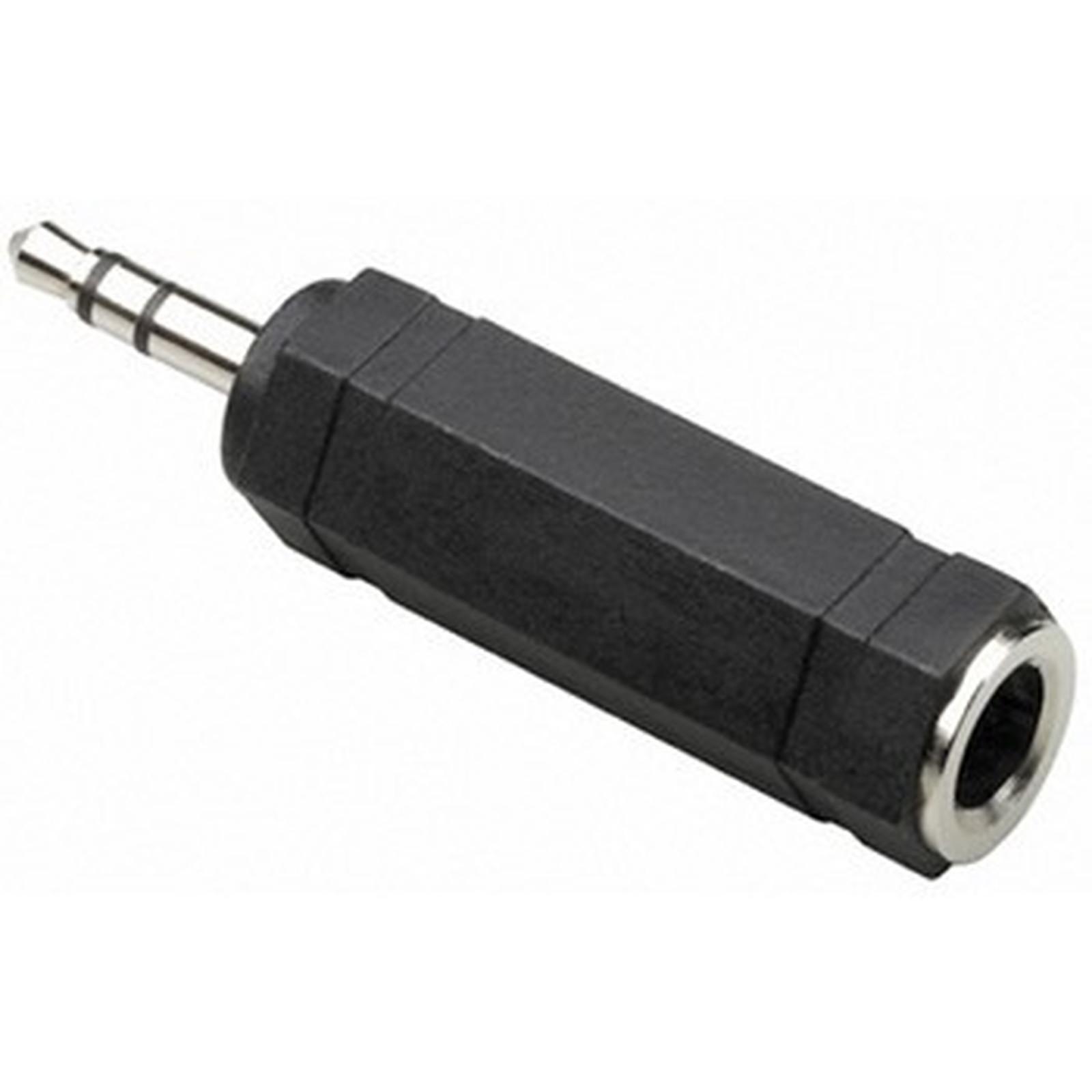 Thomson Adaptateur audio Jack 6.35 mm femelle / 3.5 mm mâle