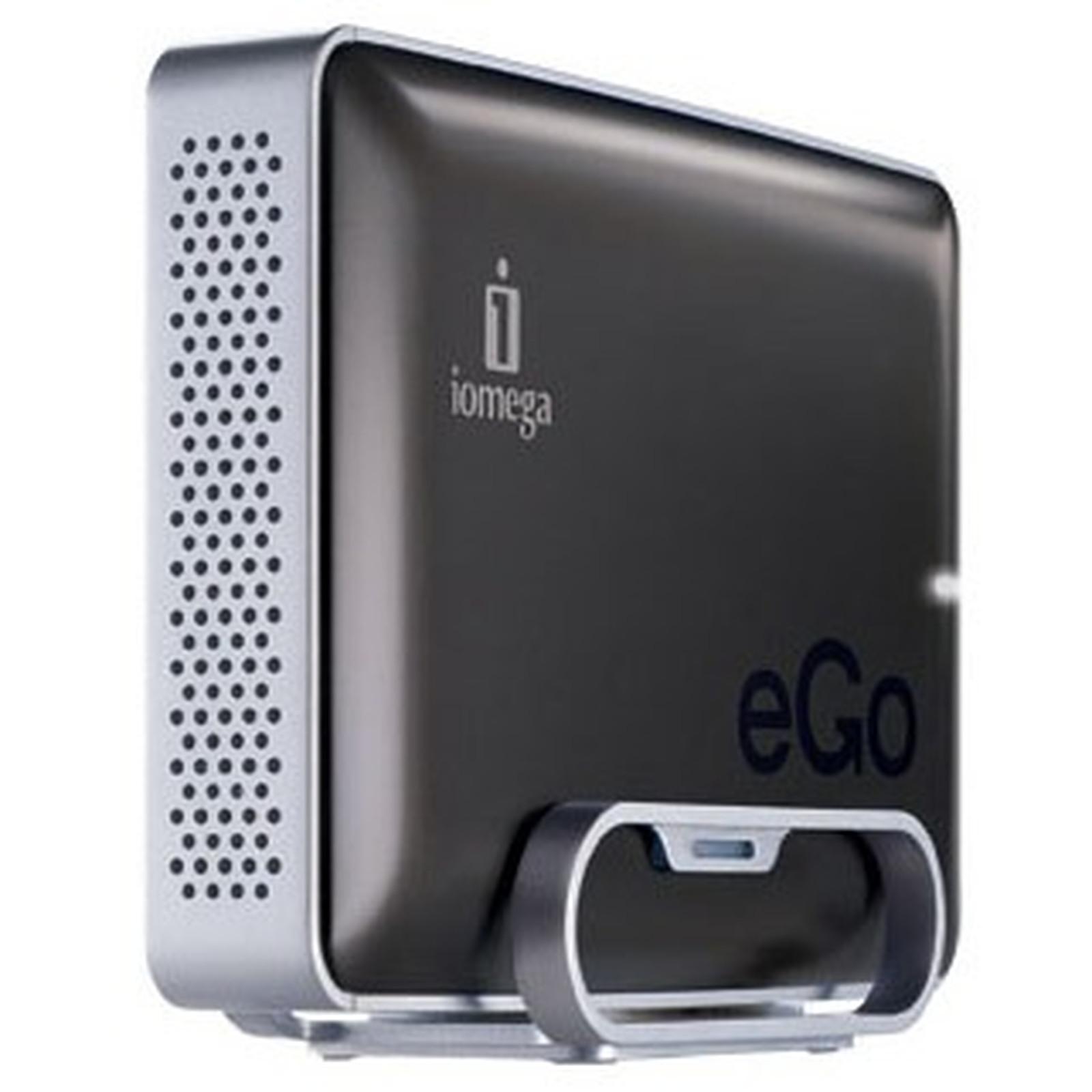 Iomega eGo Desktop Hard Drive USB 3.0 2 To Gris Anthracite