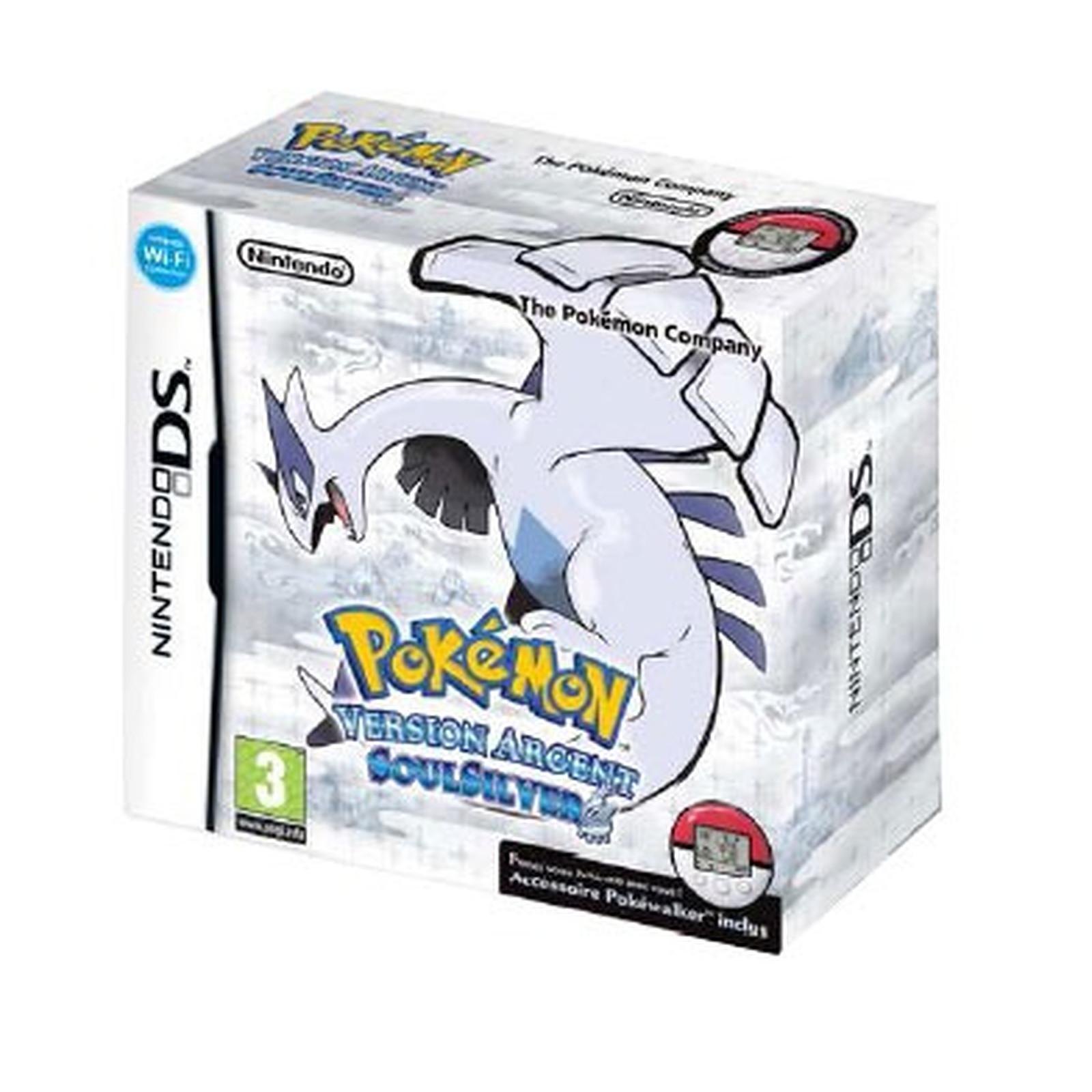 Pokémon version Argent : SoulSilver (Nintendo DS)