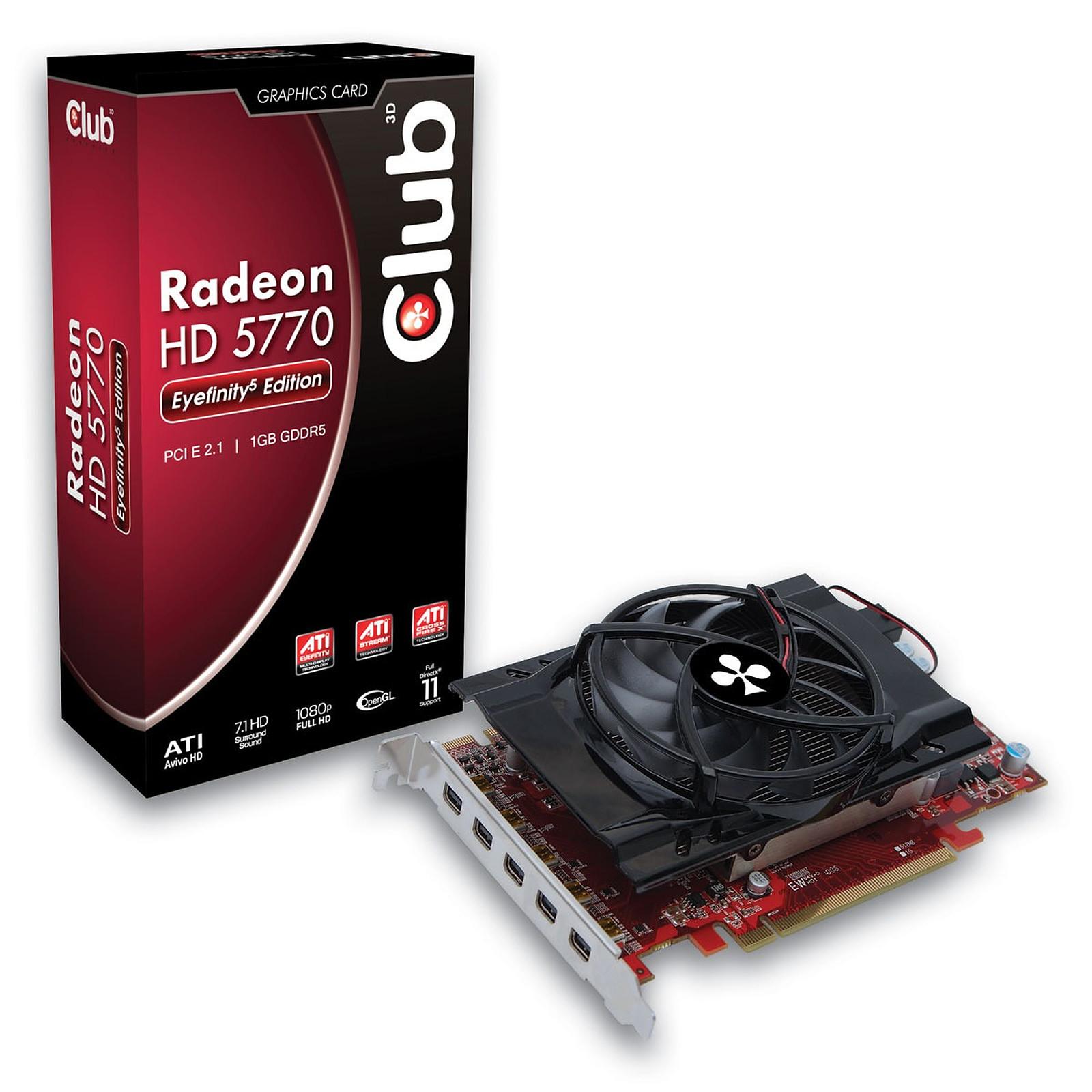 Club 3D Radeon HD 5770 Eyefinity 5 Edition 1 GB