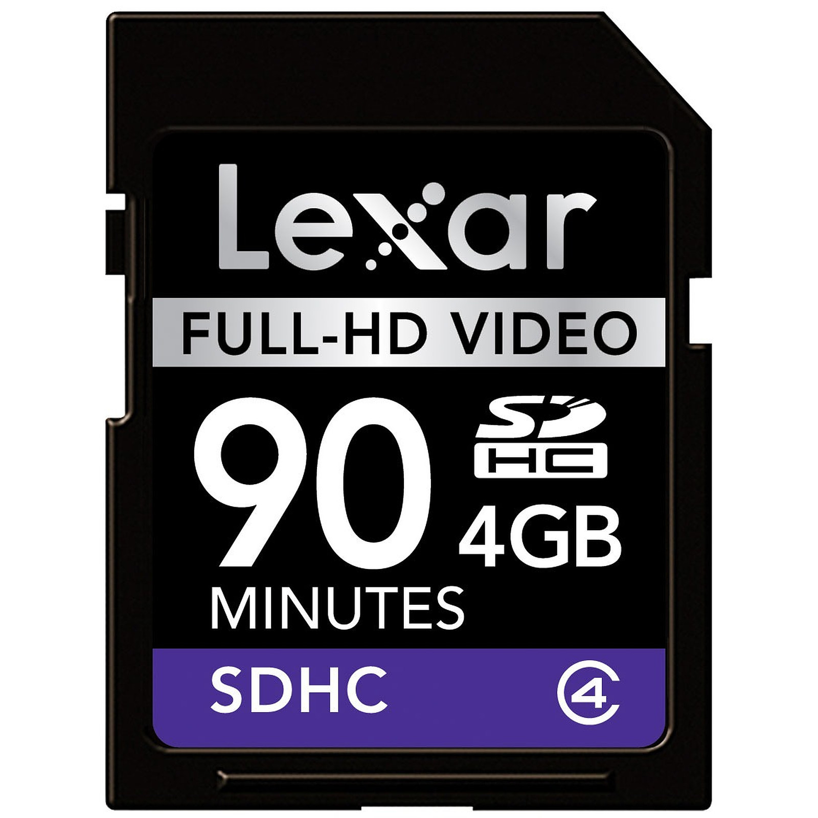 Lexar Carte SDHC Full-HD Video - 4 Go
