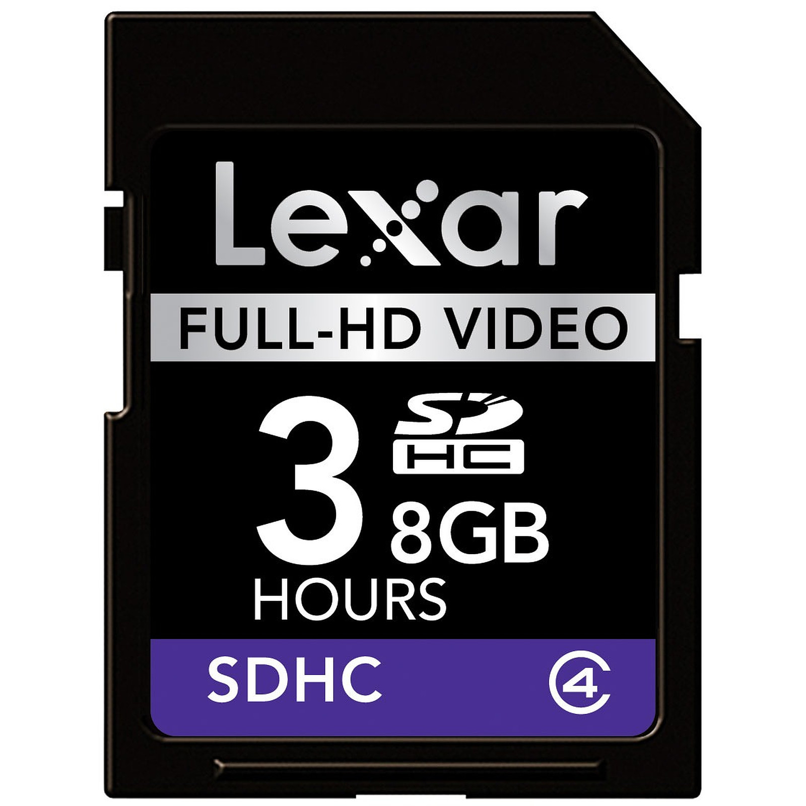 Lexar Carte SDHC Full-HD Video - 8 Go