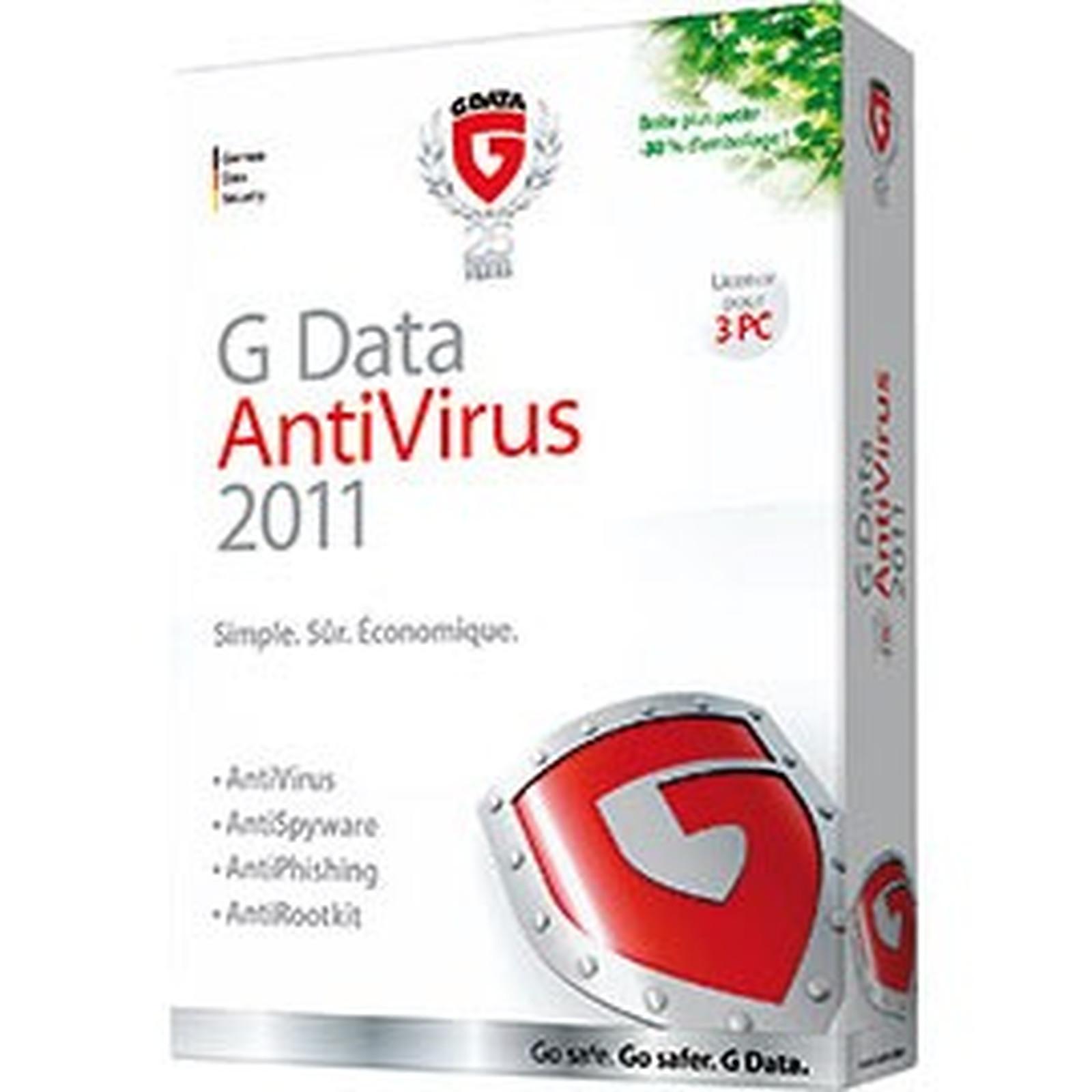 G DATA AntiVirus 2011