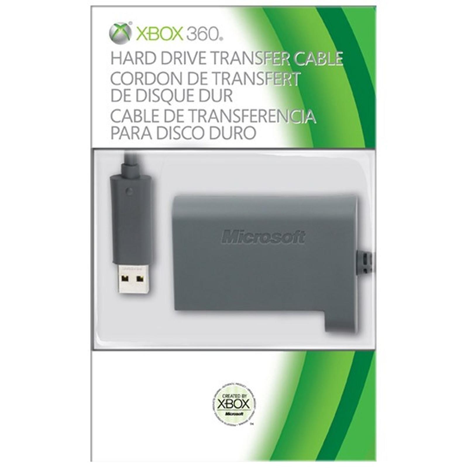 Microsoft Xbox 360 Kit de Transfert Disque Dur