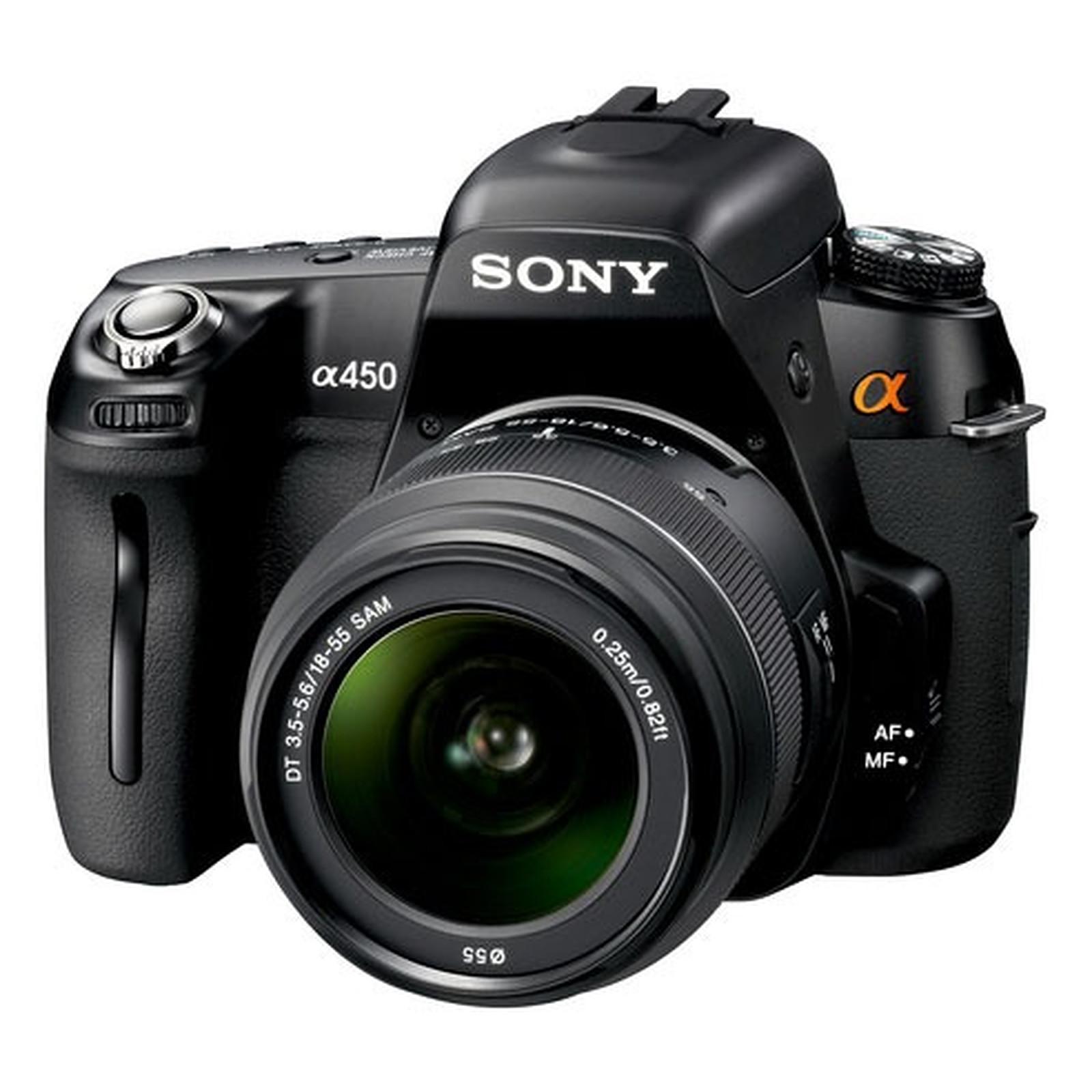 Sony DSLR-A450L + Objectif SAM-1855