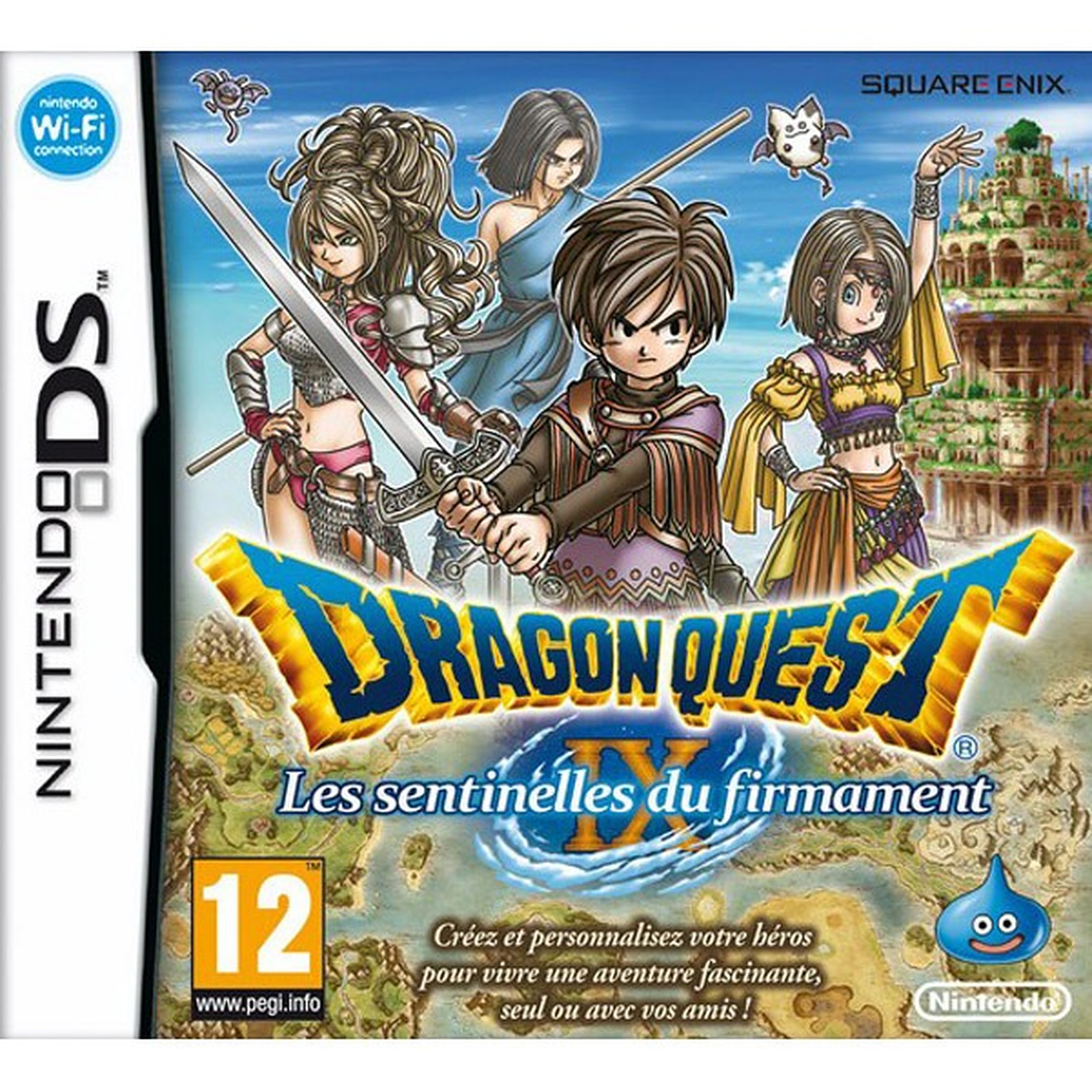 Dragon Quest IX : Les Sentinelles du firmament (Nintendo DS)