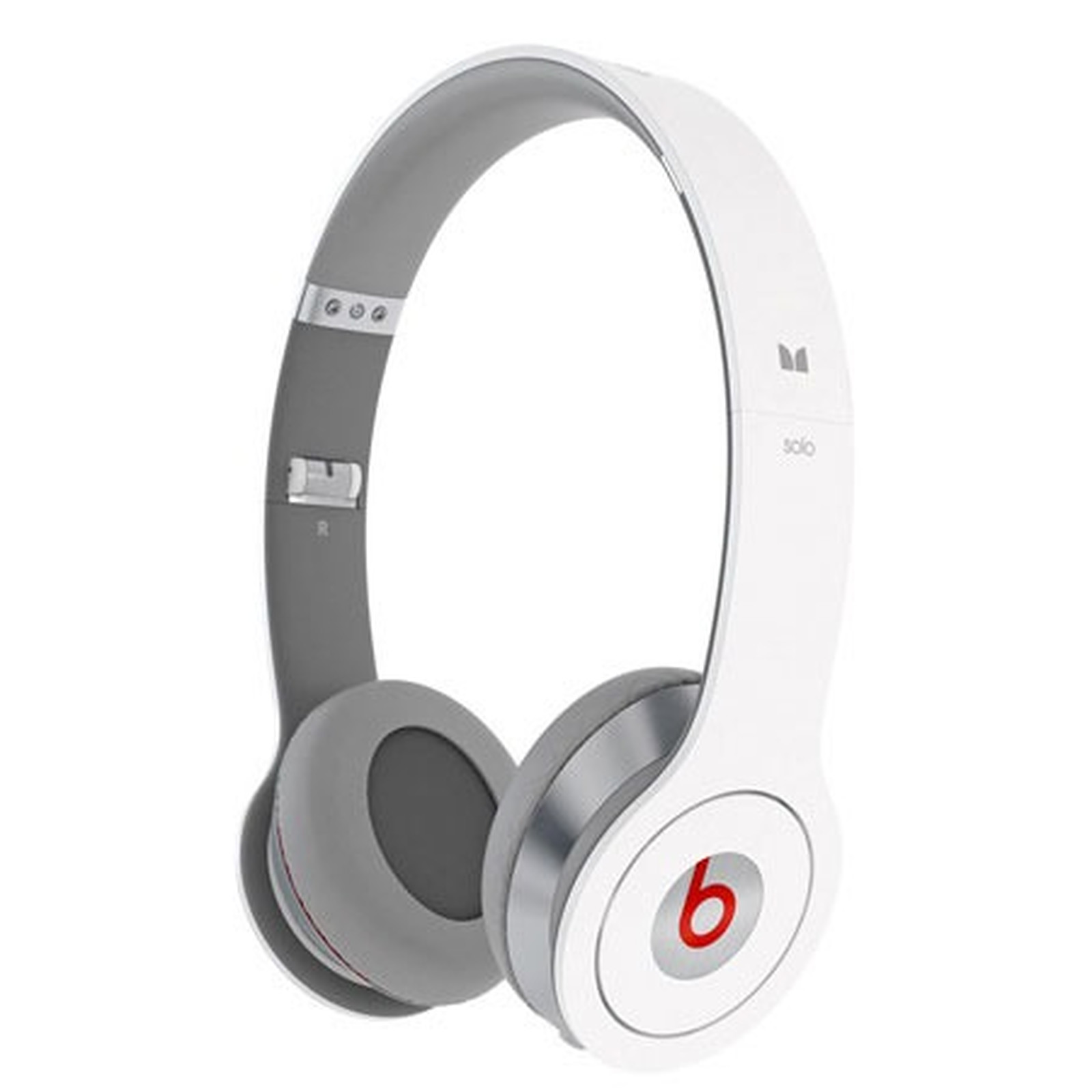 Monster Cable Beats by Dr Dre Solo Blanc
