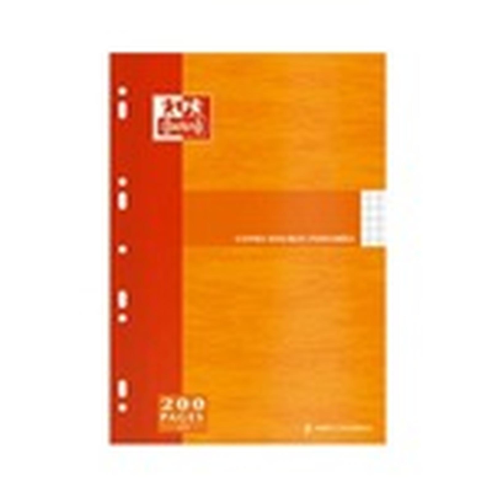 Clairefontaine Copies doubles A4 perforées - étui de 50 feuilles / 200 pages blanc 90g