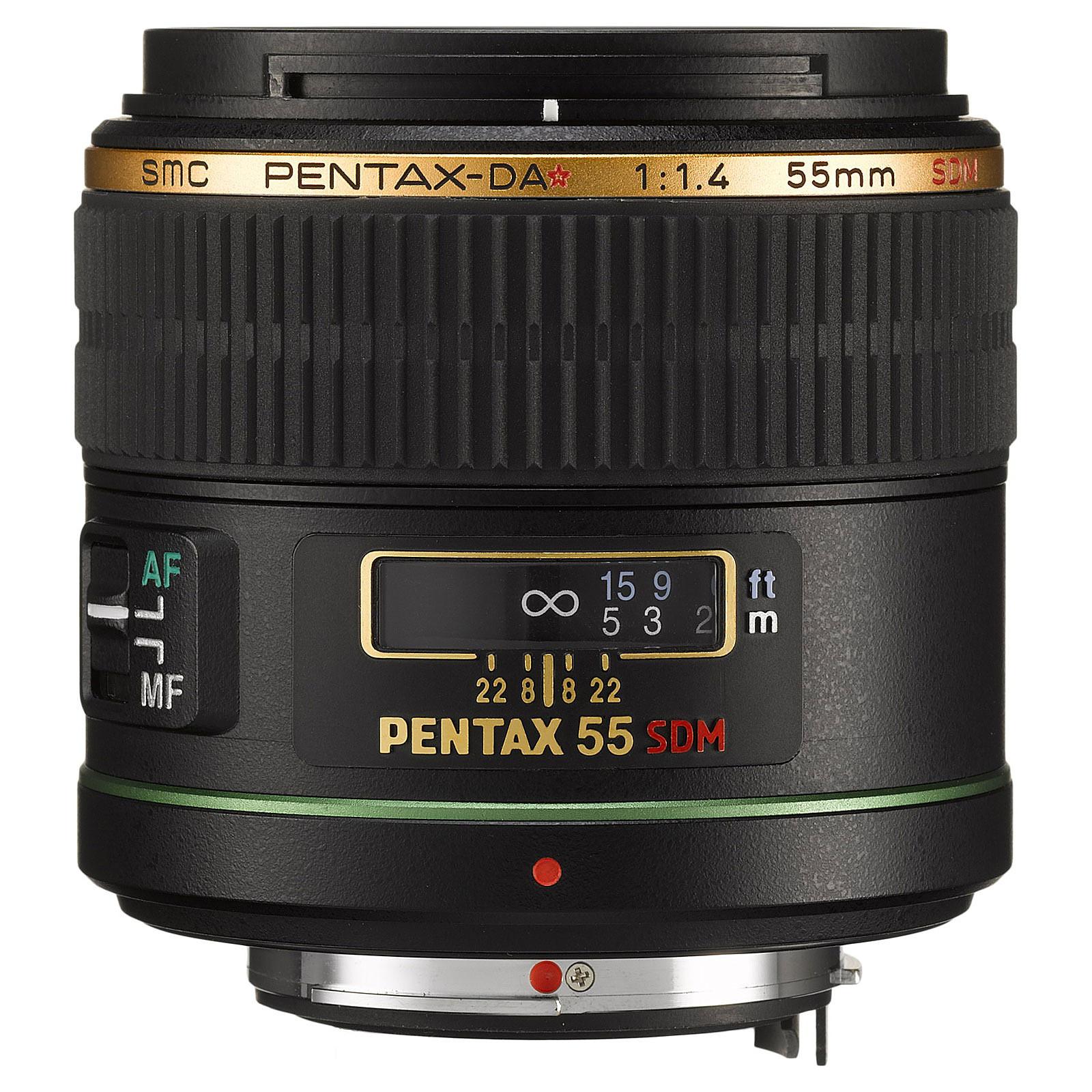 Pentax DA* 55mm f/1,4 SDM