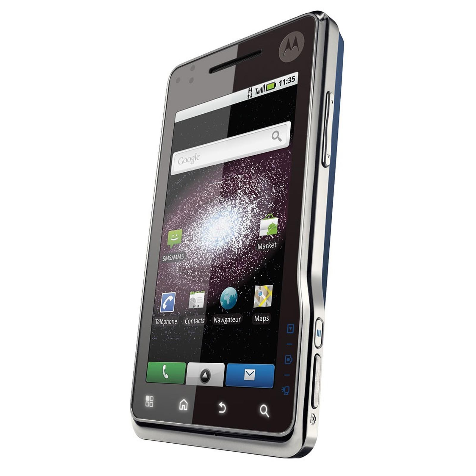 Motorola Milestone XT720 bleu/argent