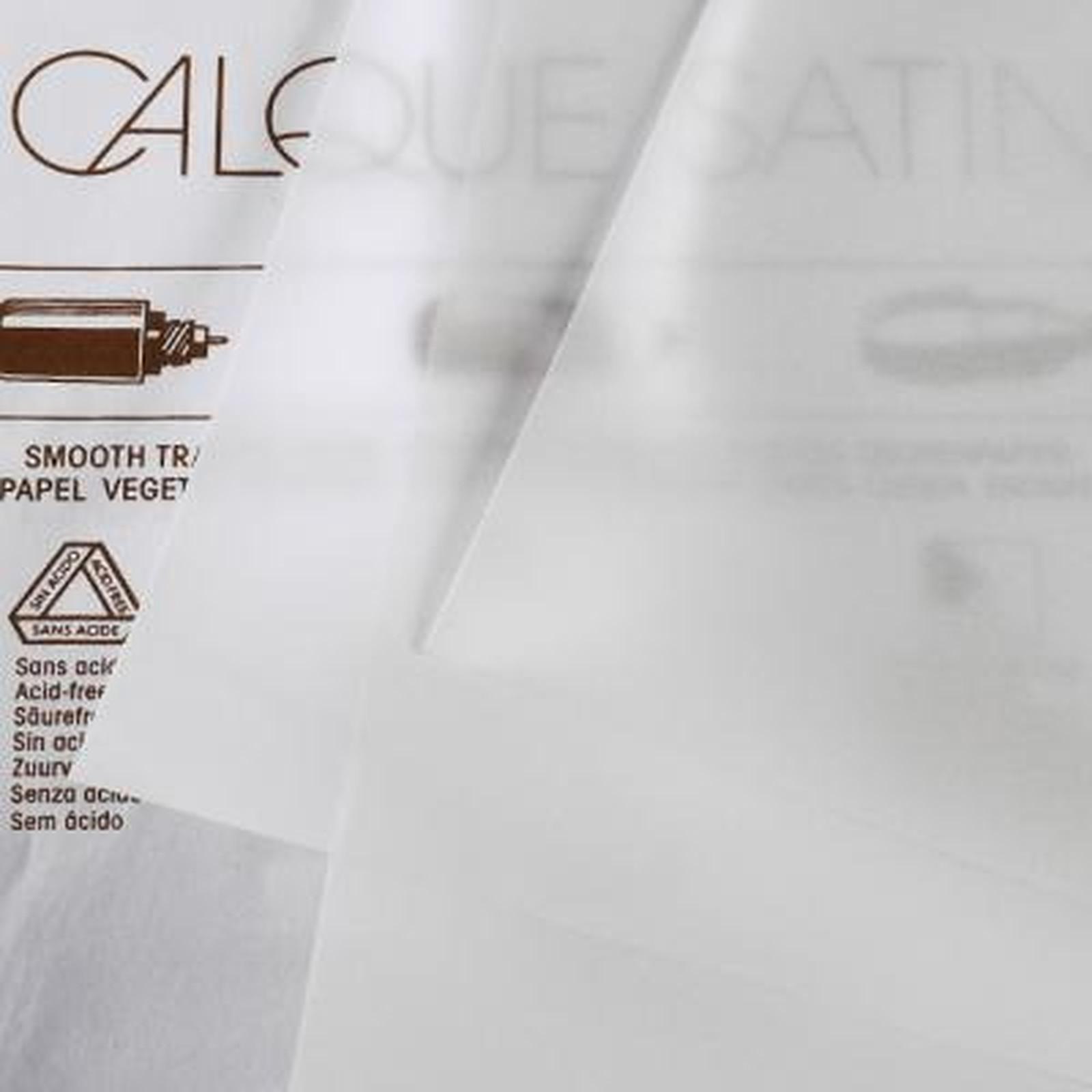 Canson Bloc papier calque 50 feuilles A4 90g