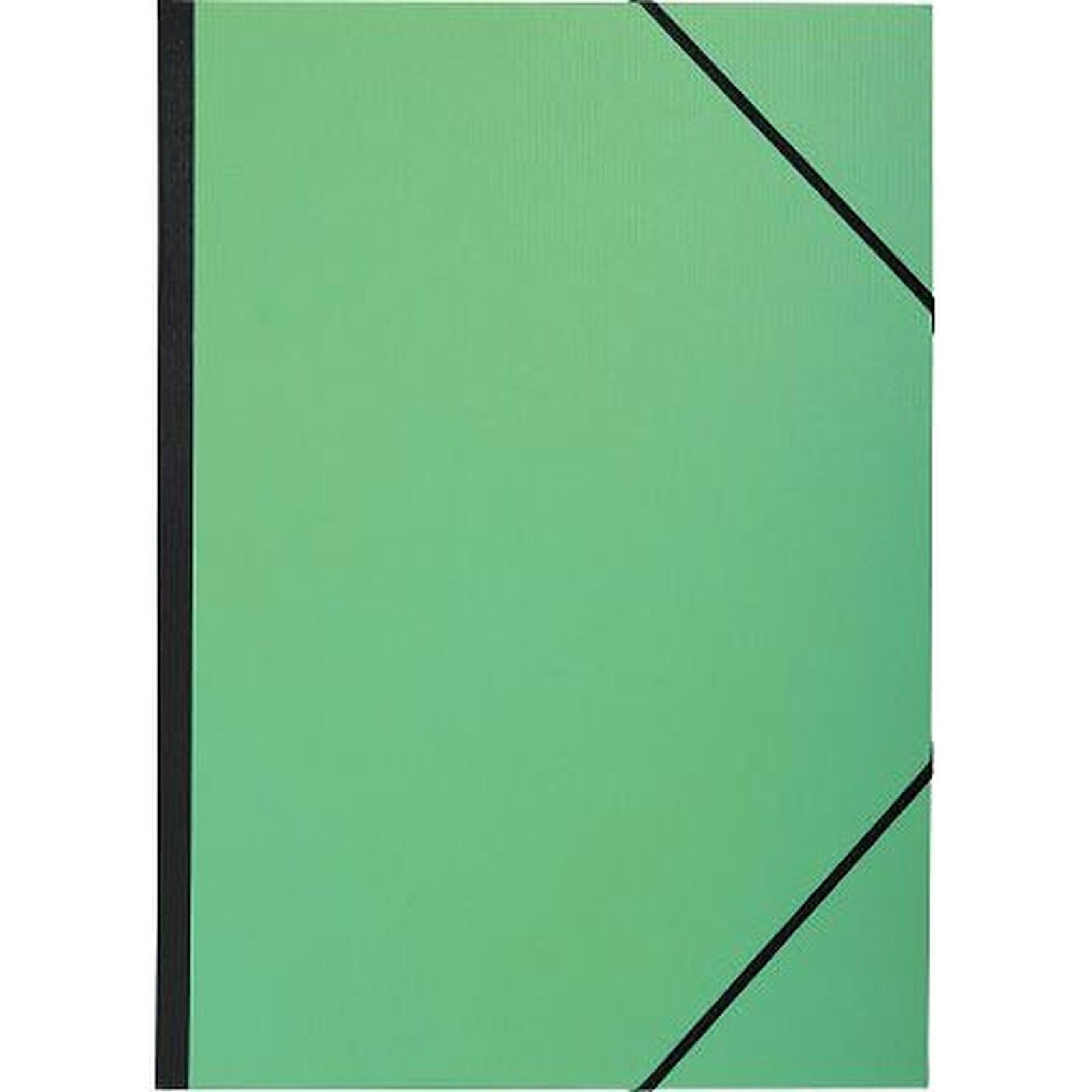 Exacompta Carton à dessin  verni vert et noir 26 x 33 cm