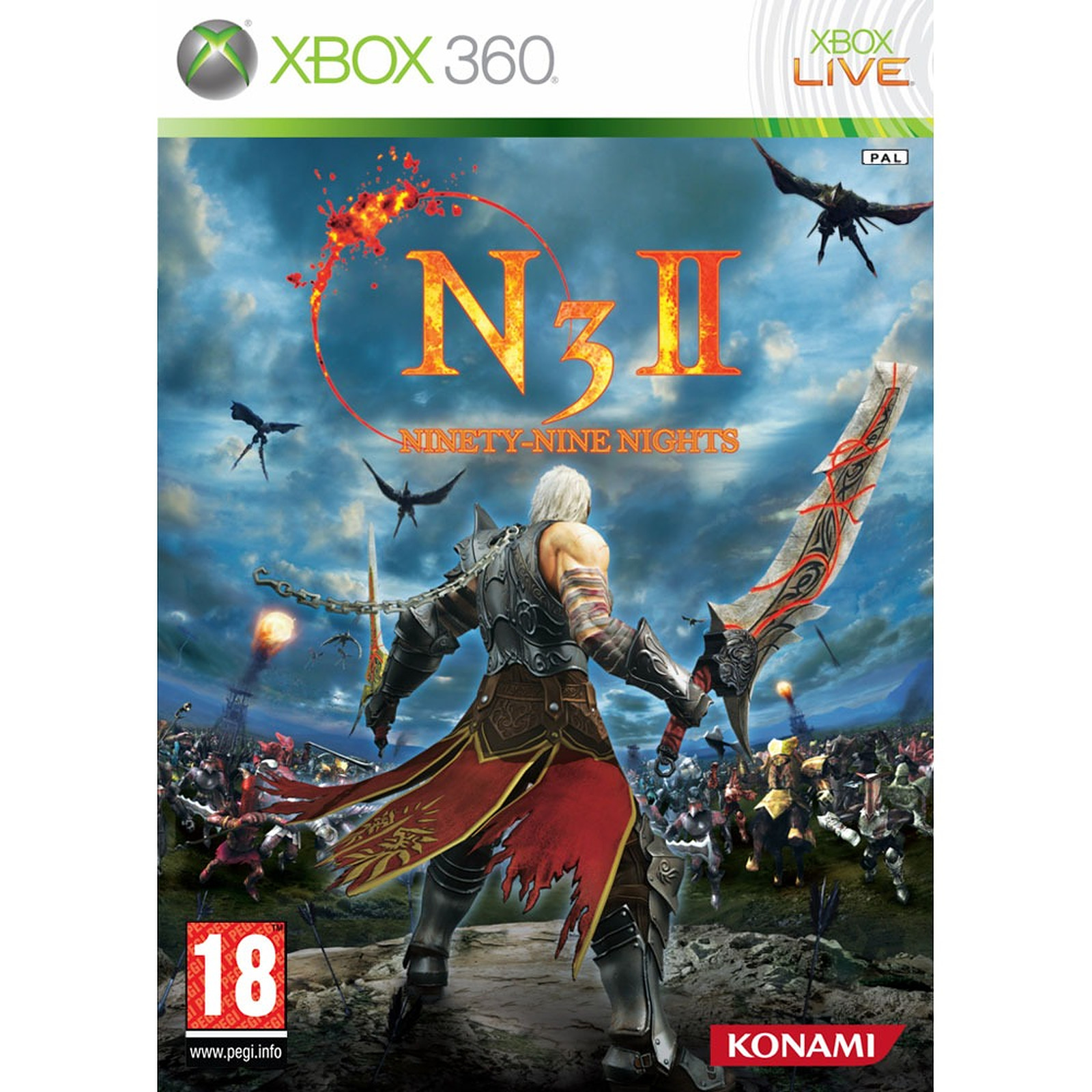 N3II : Ninety-Nine Nights II (Xbox 360)