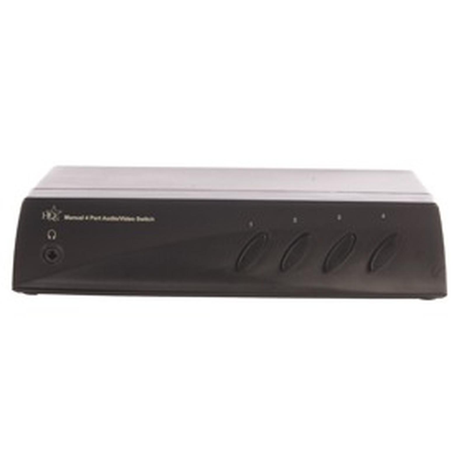 Commutateur audio/vidéo RCA & SVHS