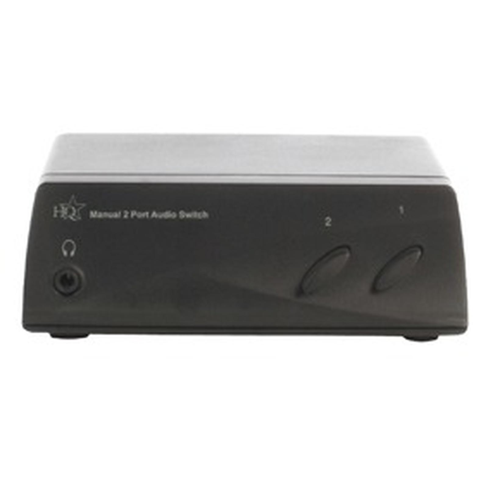 Commutateur audio RCA 2 ports
