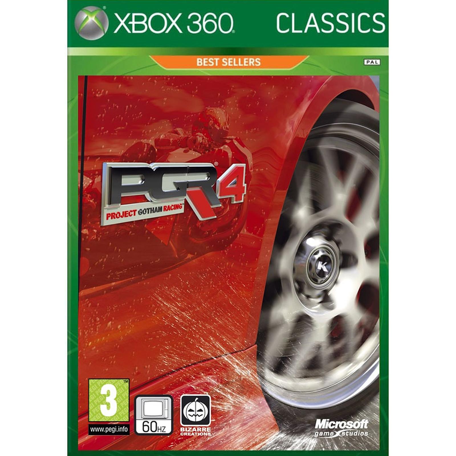 Project Gotham Racing 4 Classics (XBox 360)