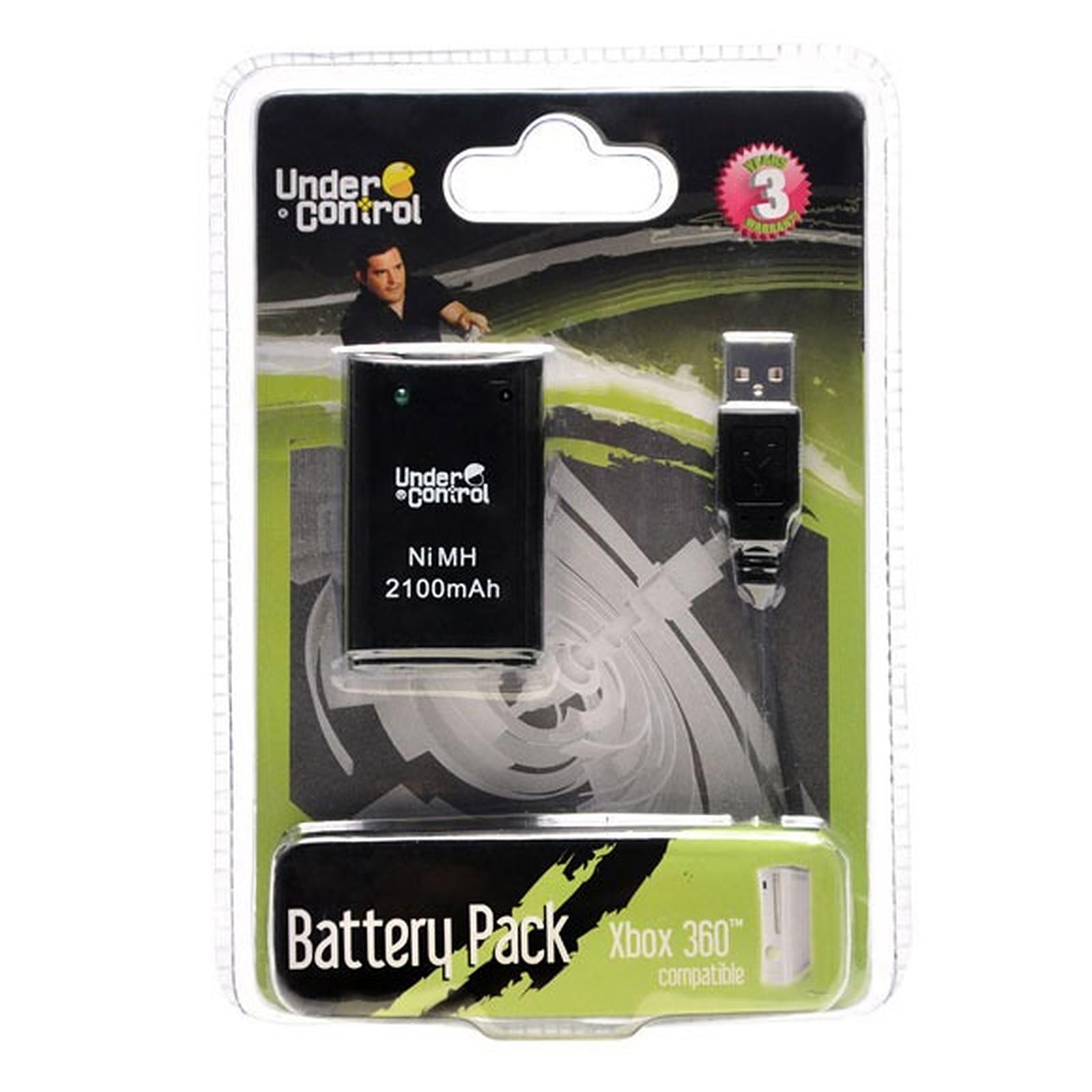 Under Control Battery Pack Noir (Xbox 360)