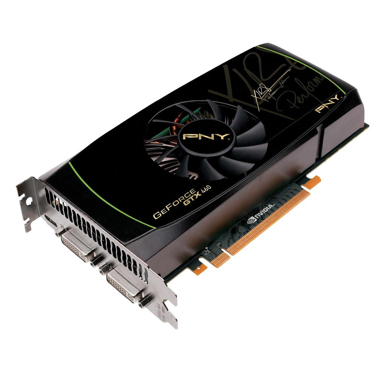 PNY GeForce GTX460 - 768 MB