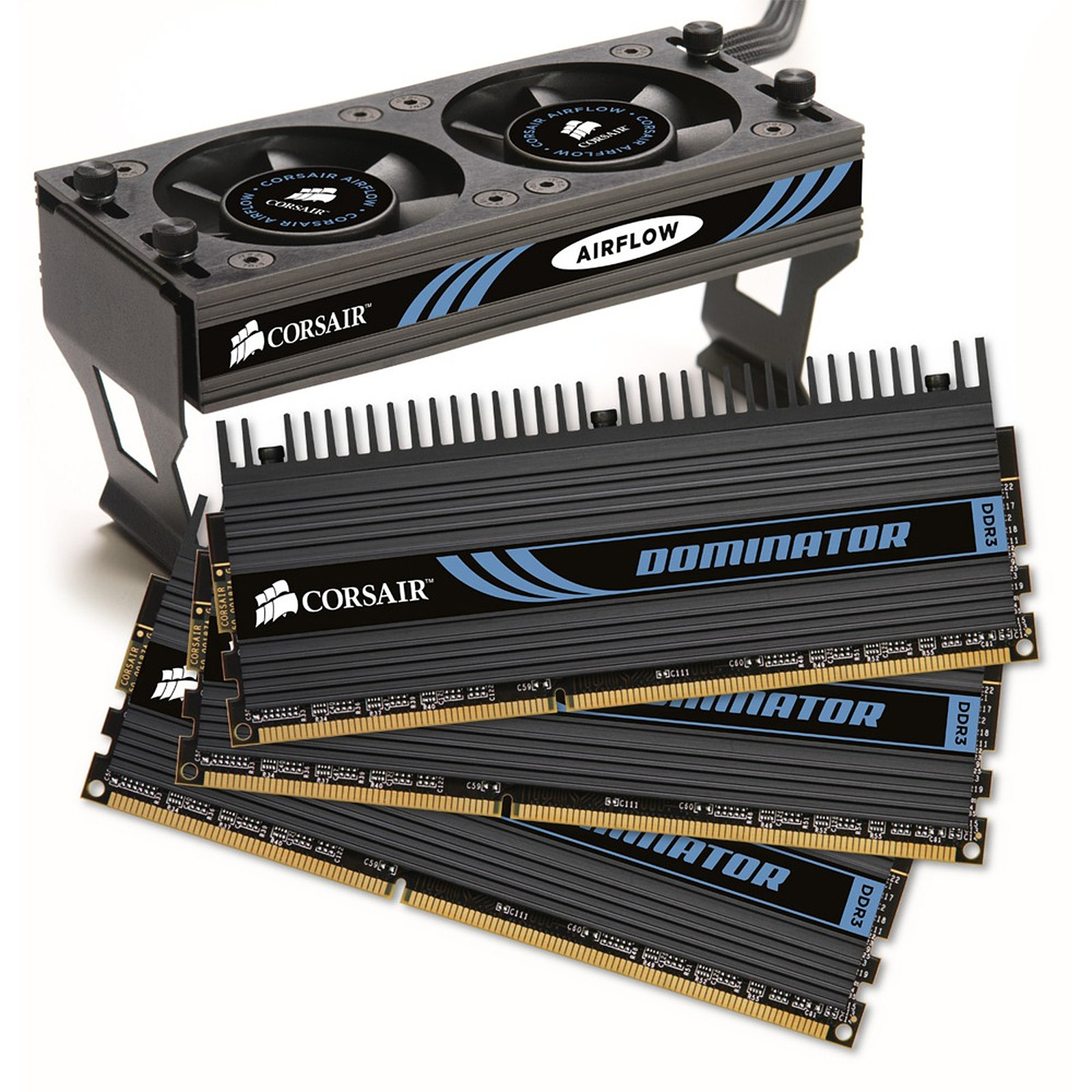 Corsair Dominator 12 Go (3x 4 Go) DDR3 1600 MHz CL9