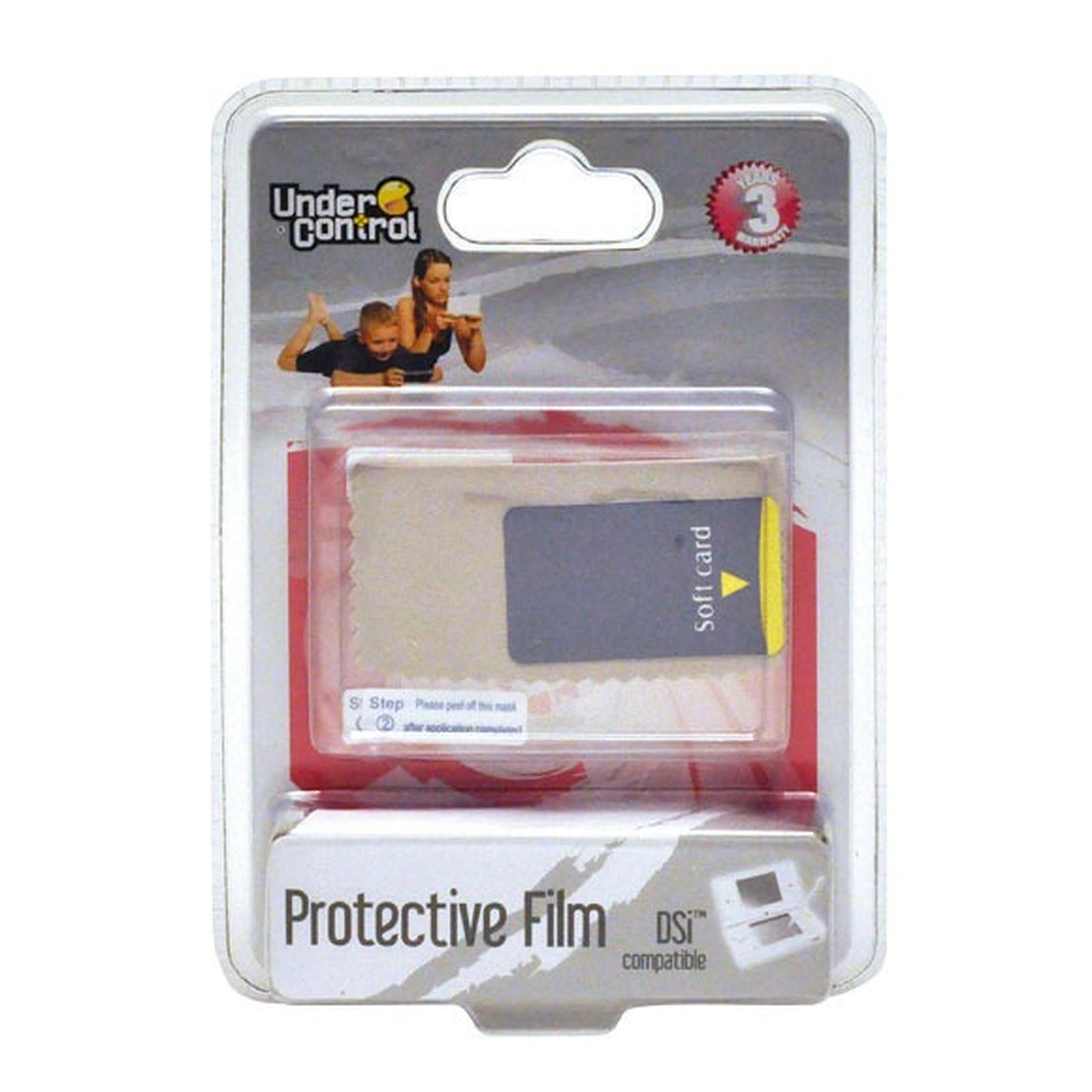 Under Control film de protection écrans (Nintendo DSi)