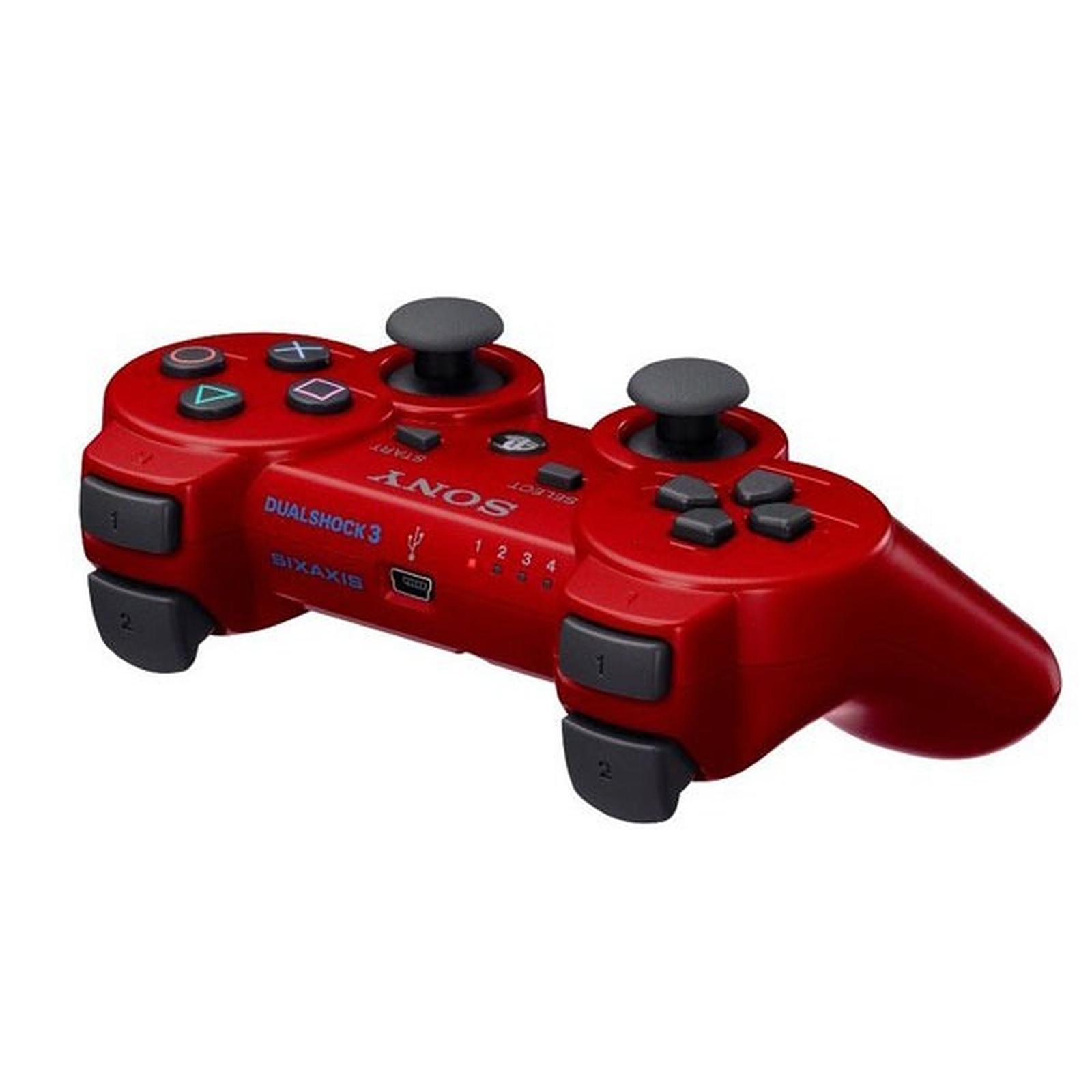 Sony DualShock 3 Rouge