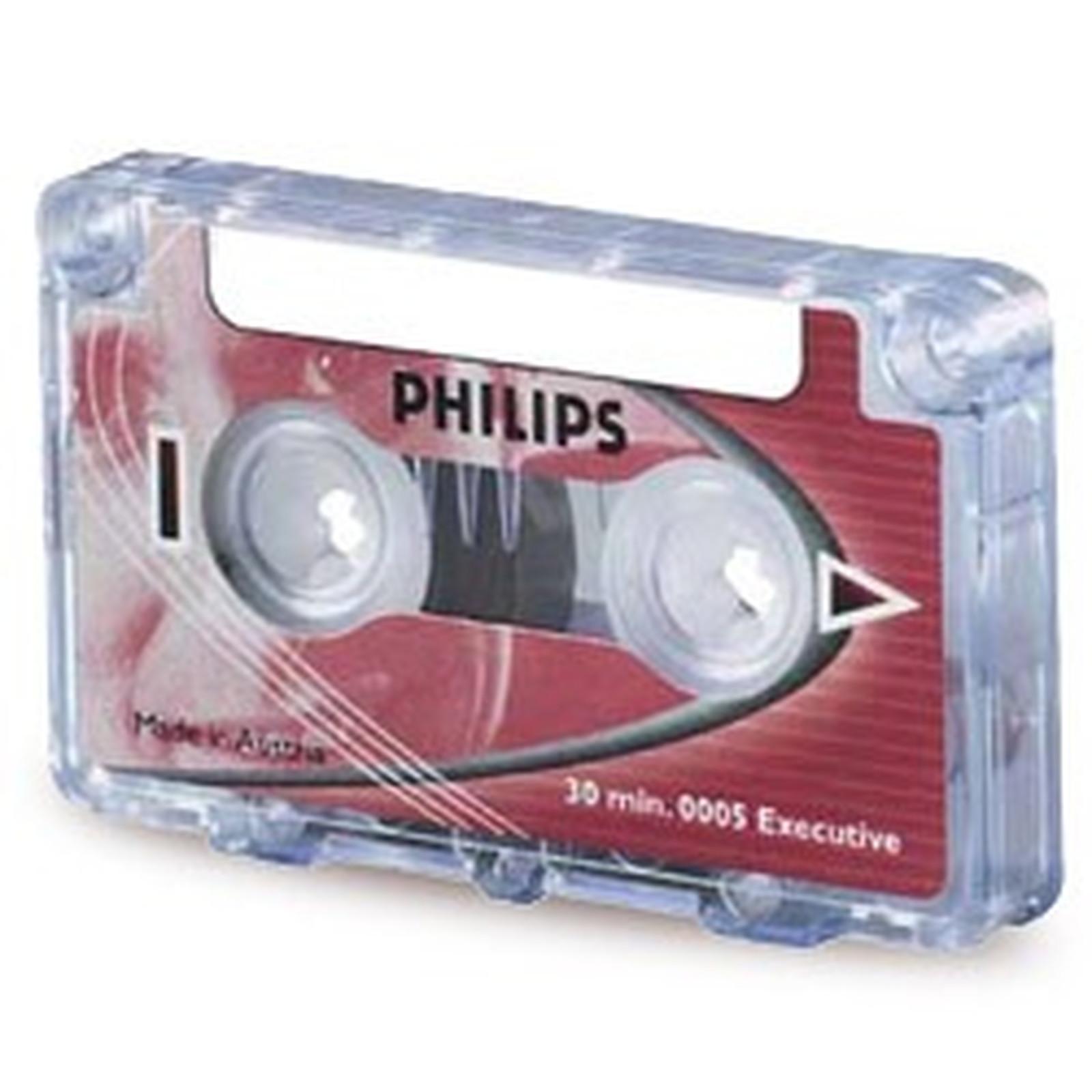 Philips Mini cassette audio 0005 30 minutes