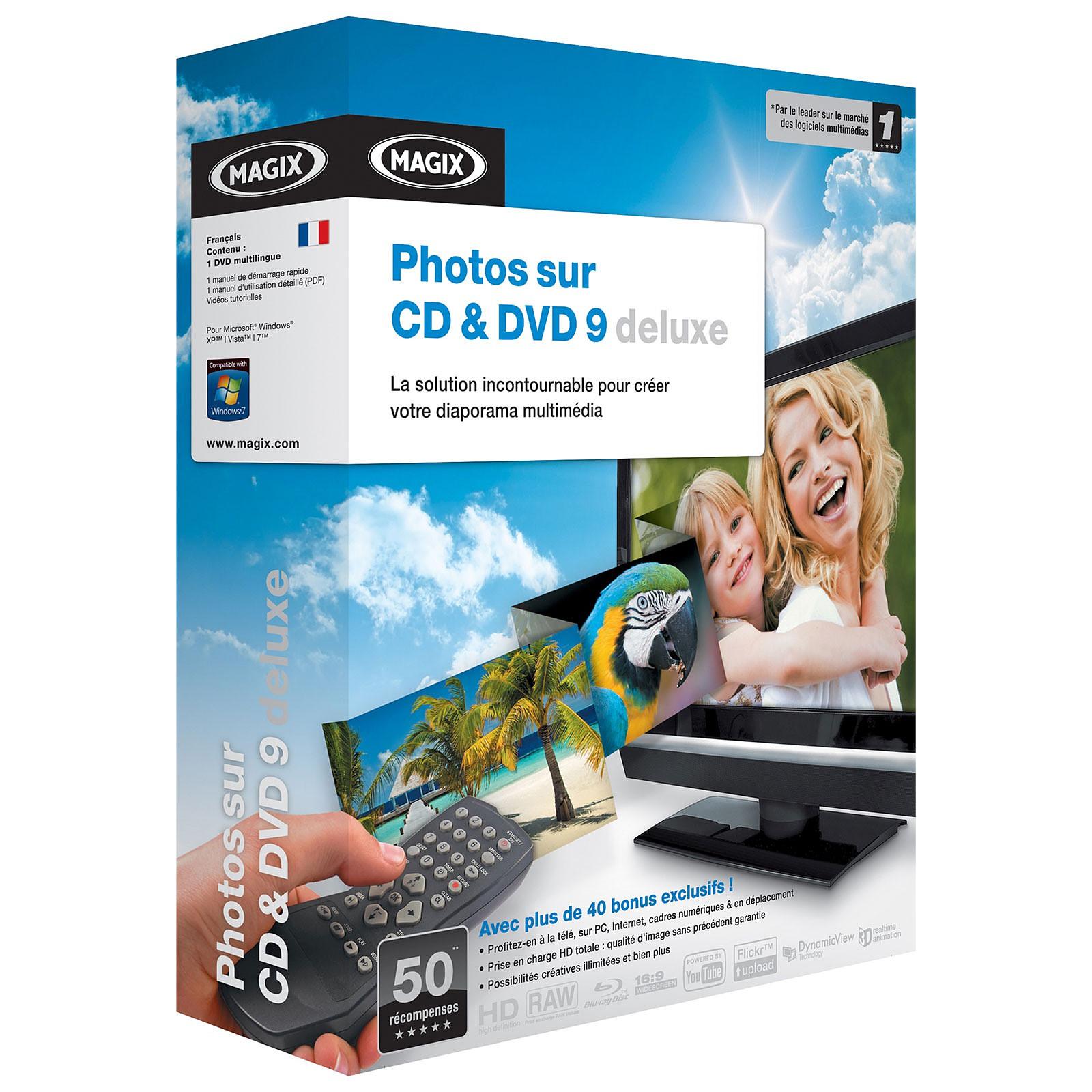 Magix Photos sur CD & DVD 9 Deluxe