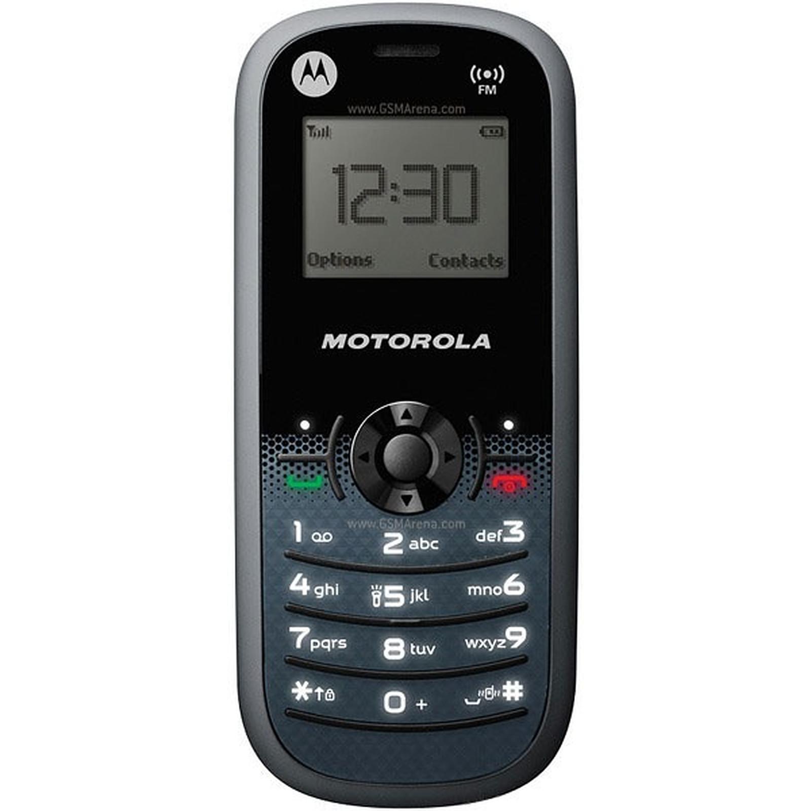 Motorola WX161 Noir