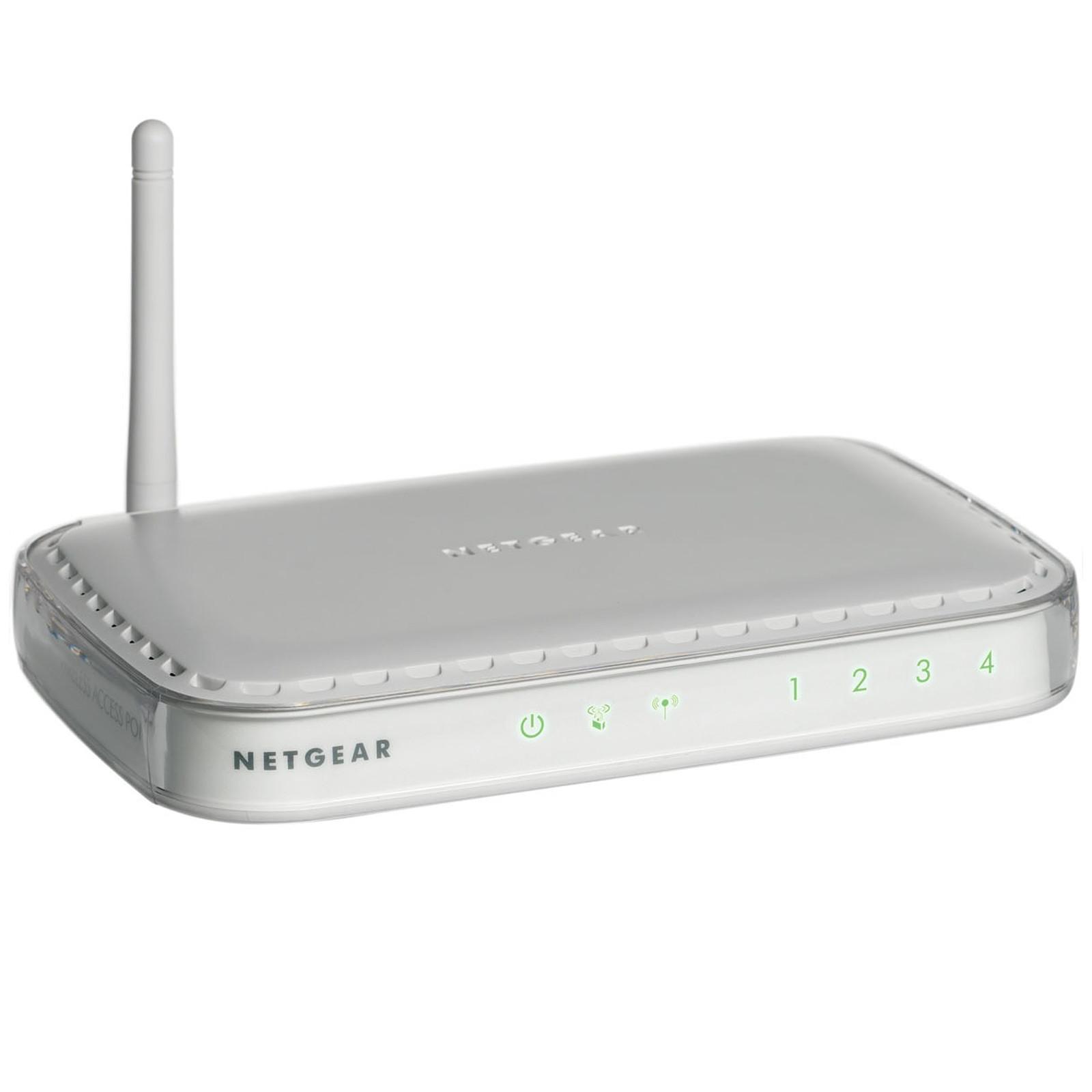 Netgear WN604 Point d'accès Wi-Fi N 150