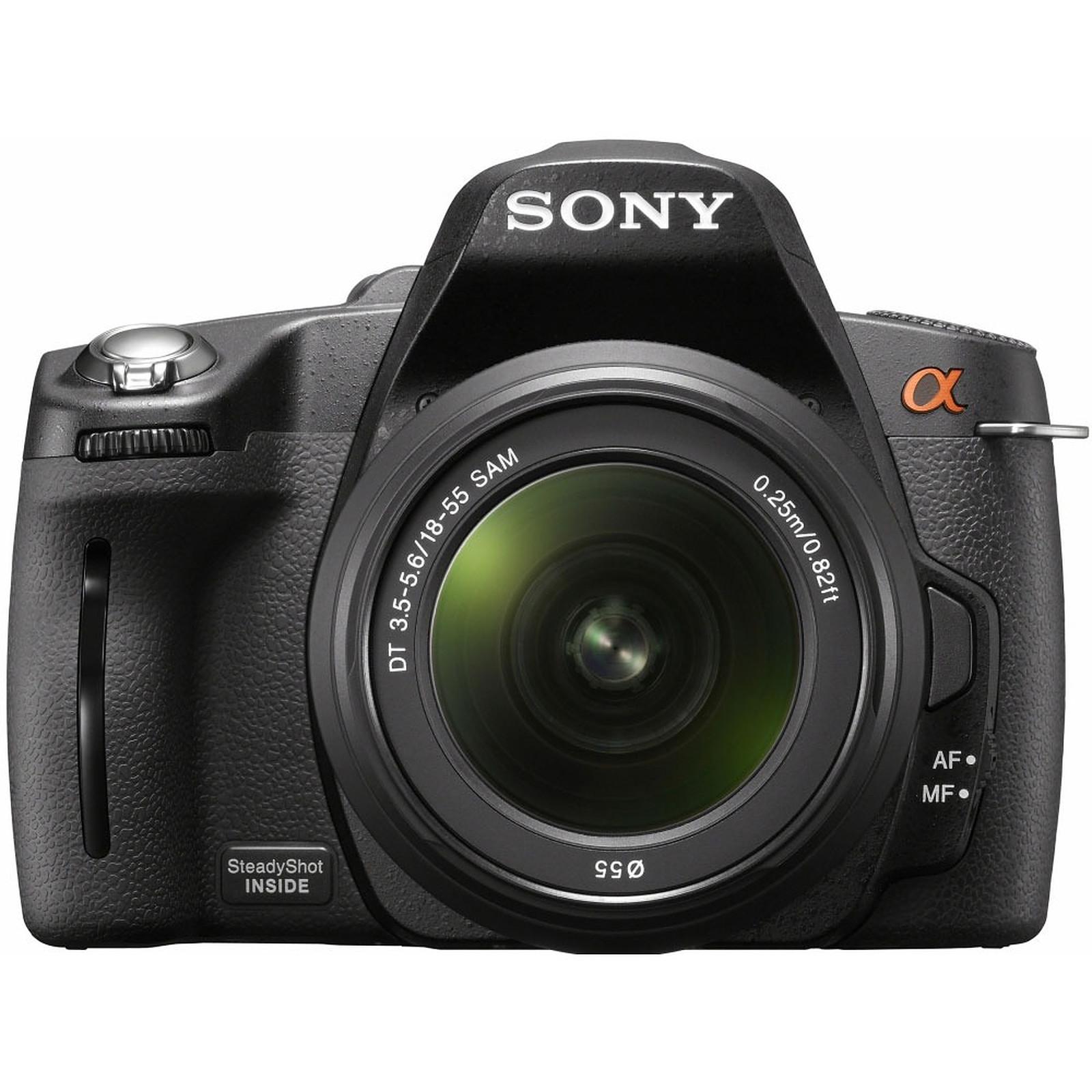 Sony DSLR-A390 + Objectif 18-55 mm