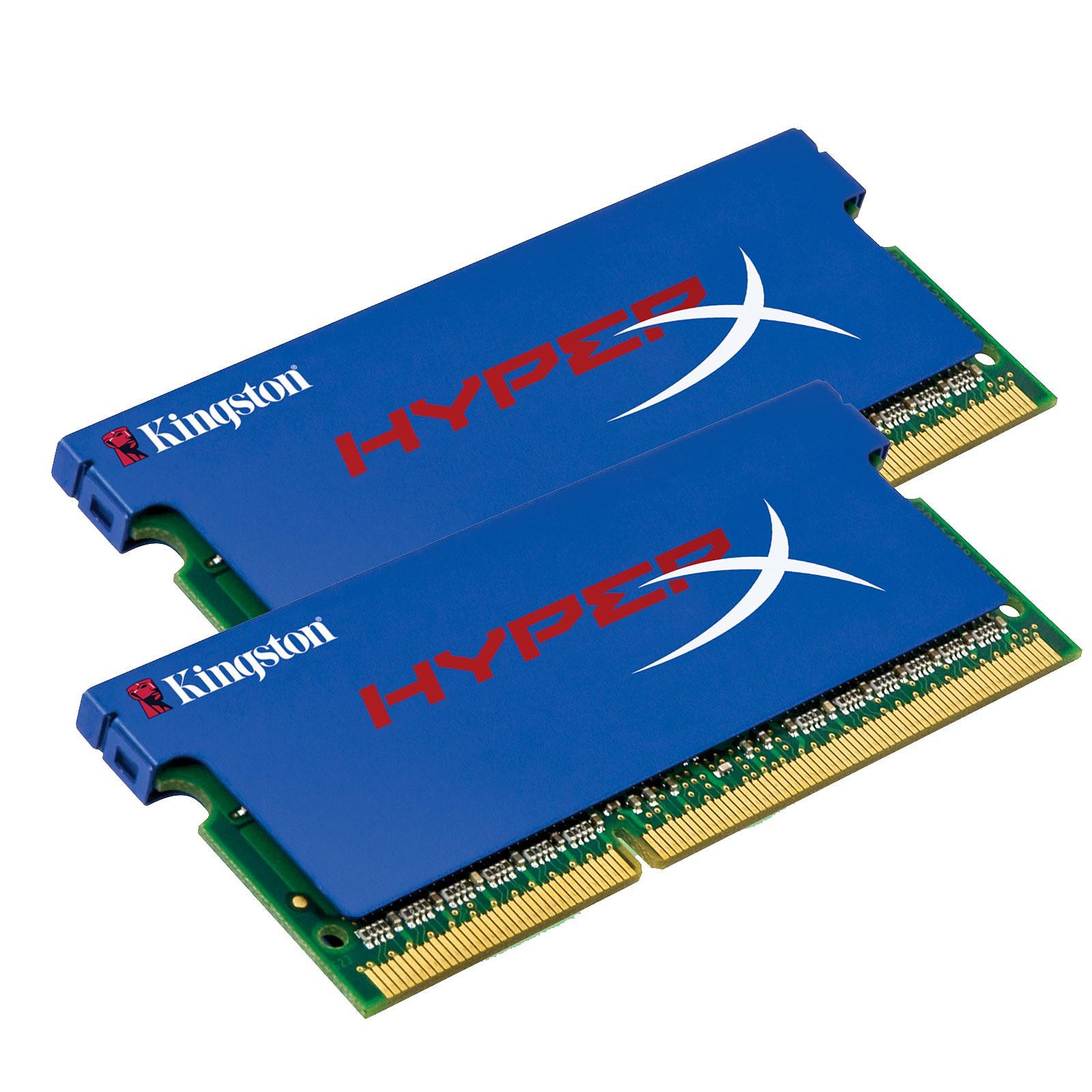 Kingston SO-DIMM XMP 4 Go (2x 2Go) DDR3 1600 MHz