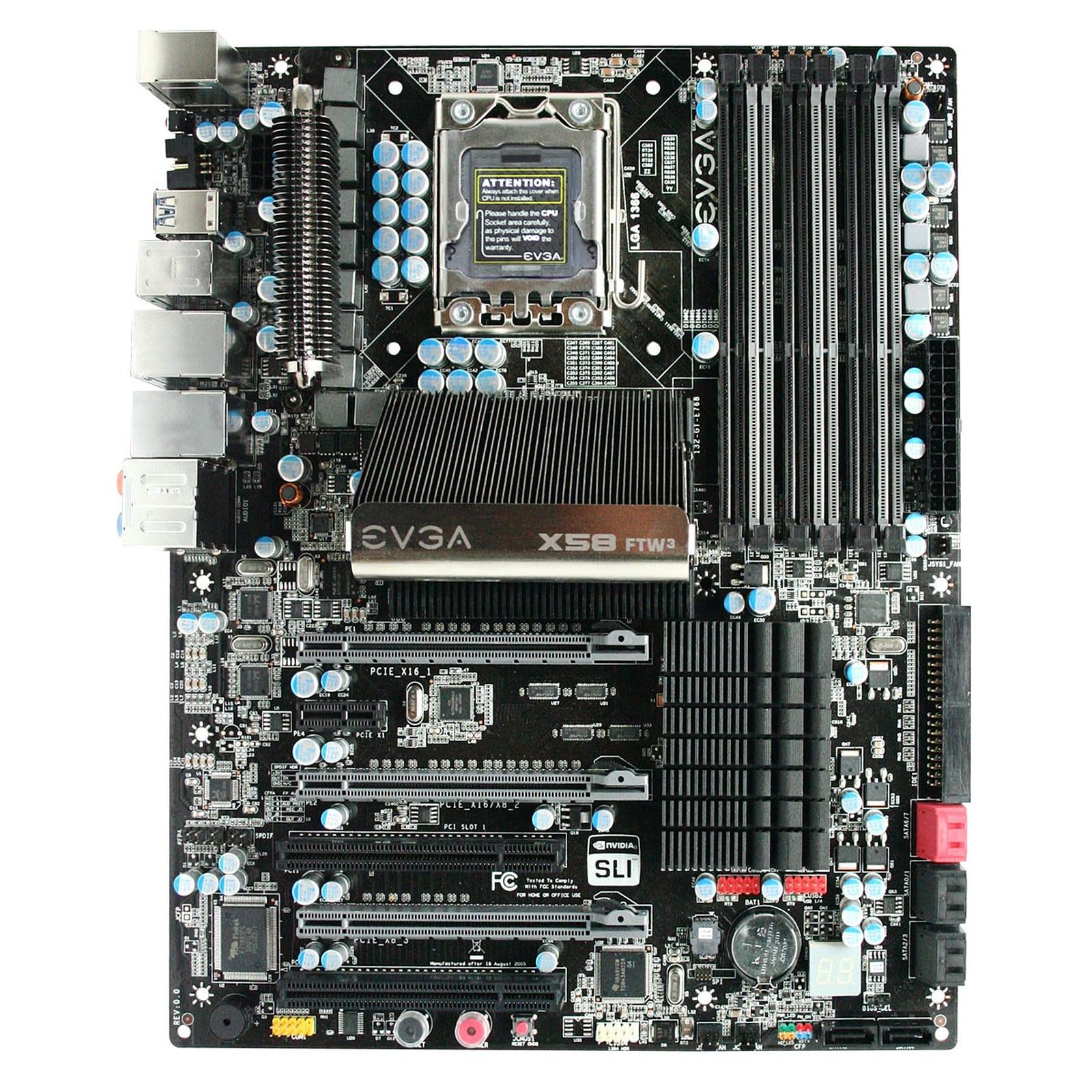 EVGA X58 FTW3 (Intel X58 Express)