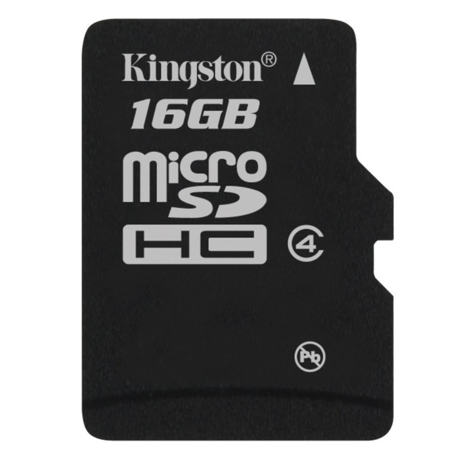 Kingston microSDHC 16 GB Class 4