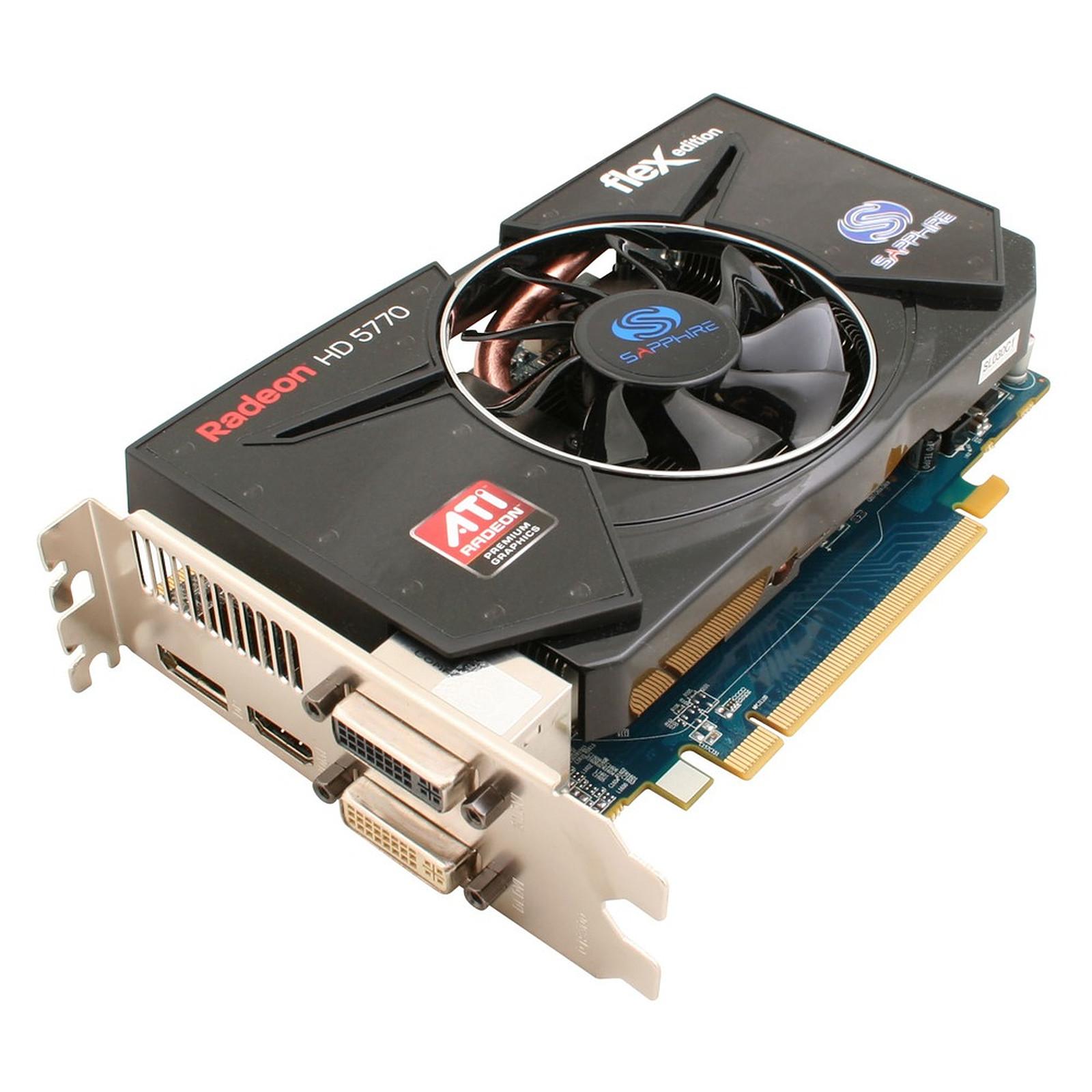 Sapphire Radeon HD 5770 FleX 1 GB