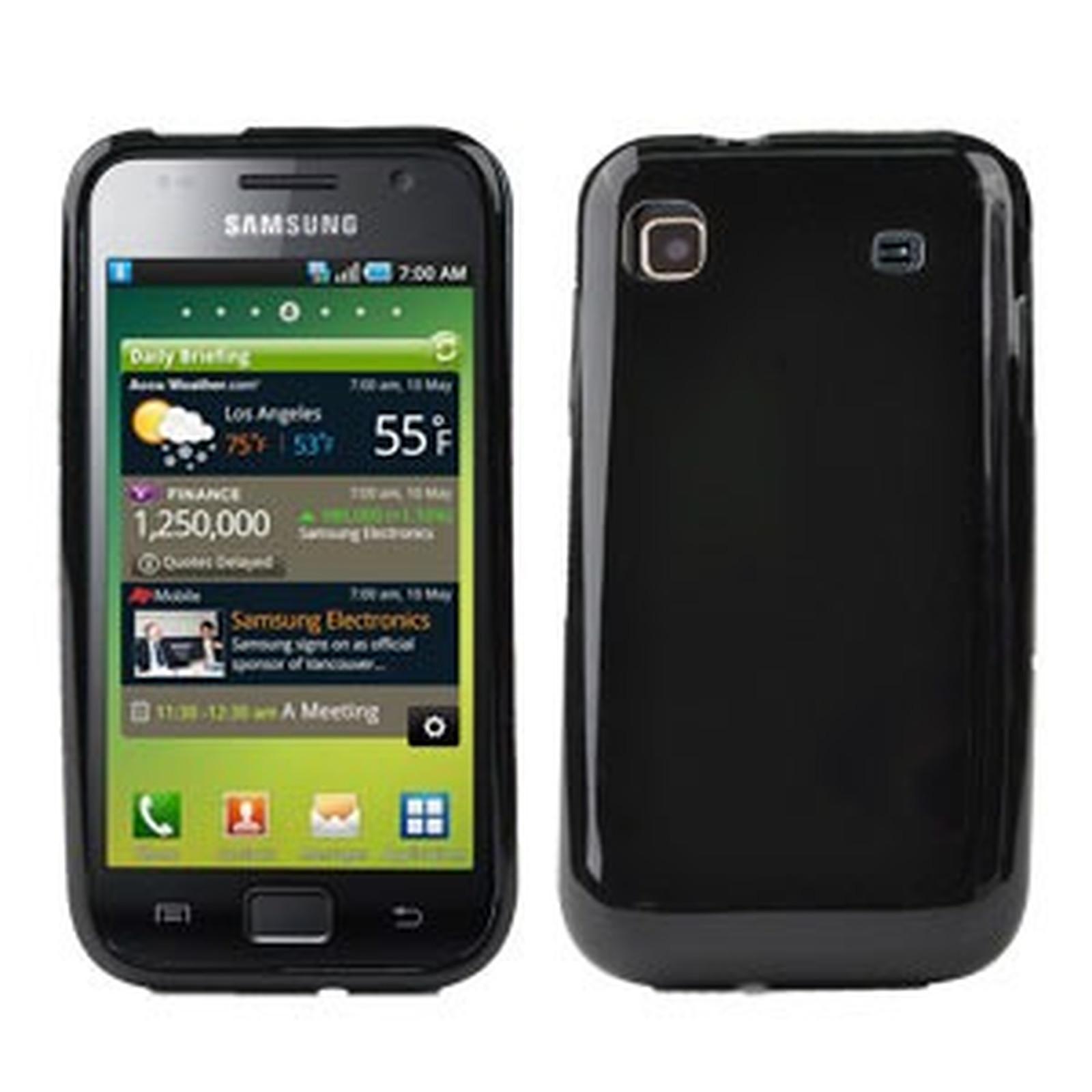 Muvit Housse minigel Noir (pour Samsung i9000 Galaxy S)
