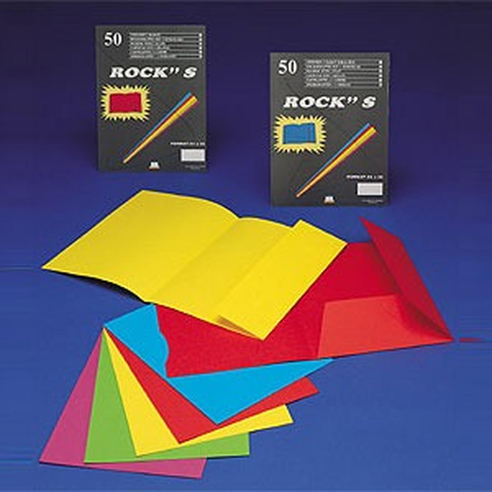Rainex 50 Chemises  24 x 32 cm 1 rabat 220 g Assortiment de coloris