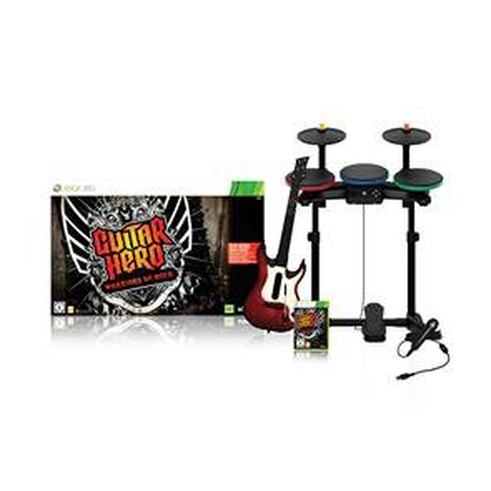 Guitar Hero Warriors of Rock Super Bundle (XBOX360)