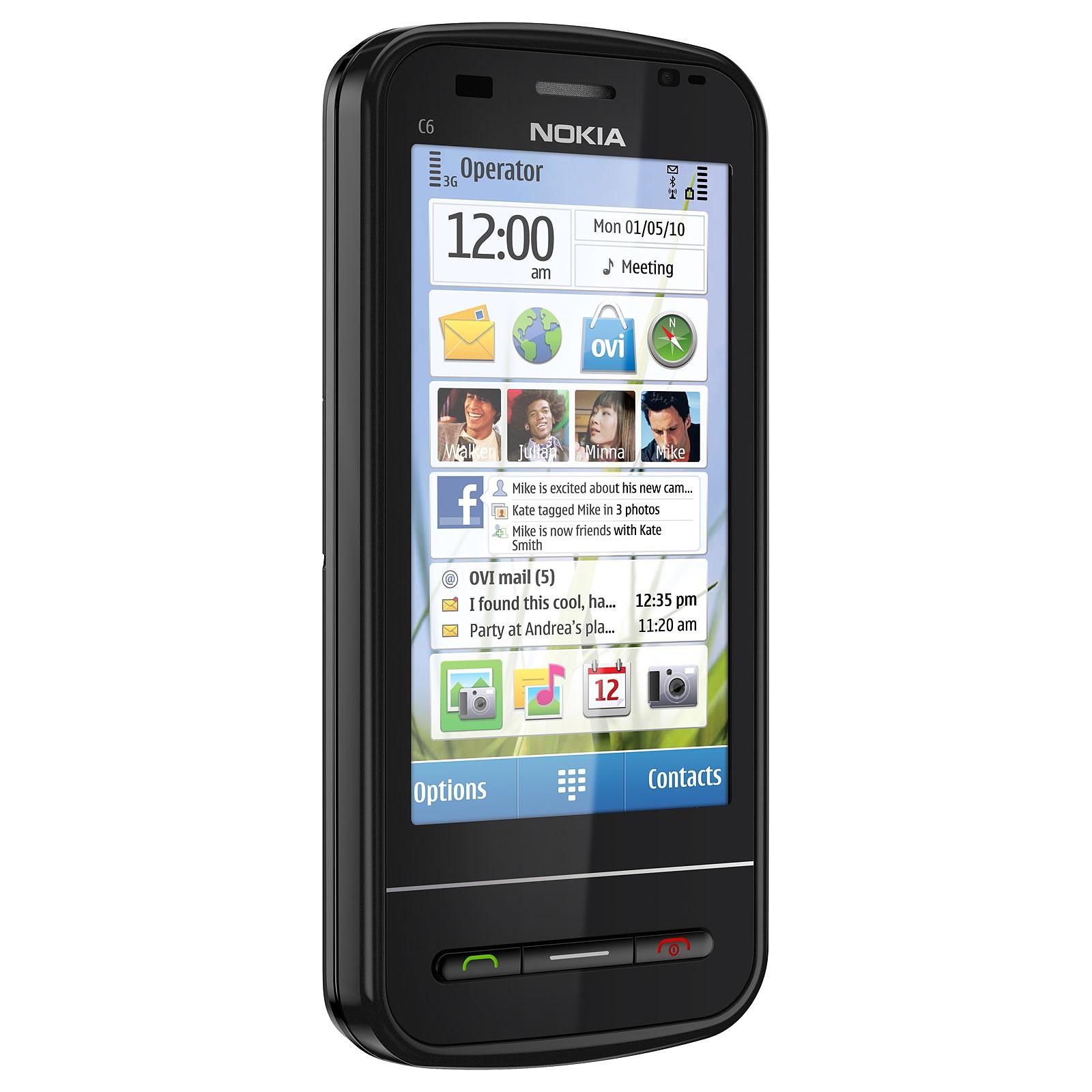 Nokia C6 Noir