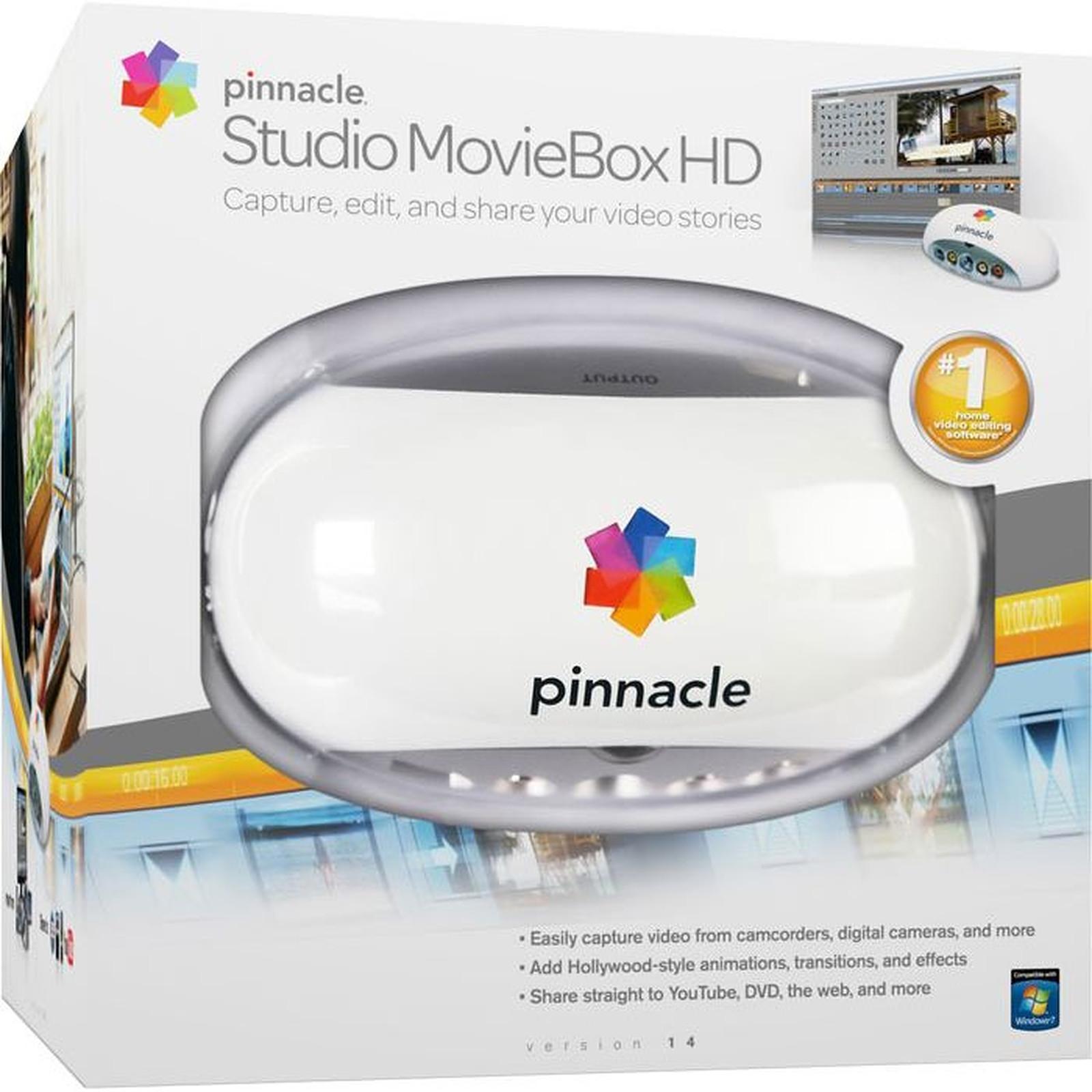 Pinnacle Studio MovieBox HD version 14