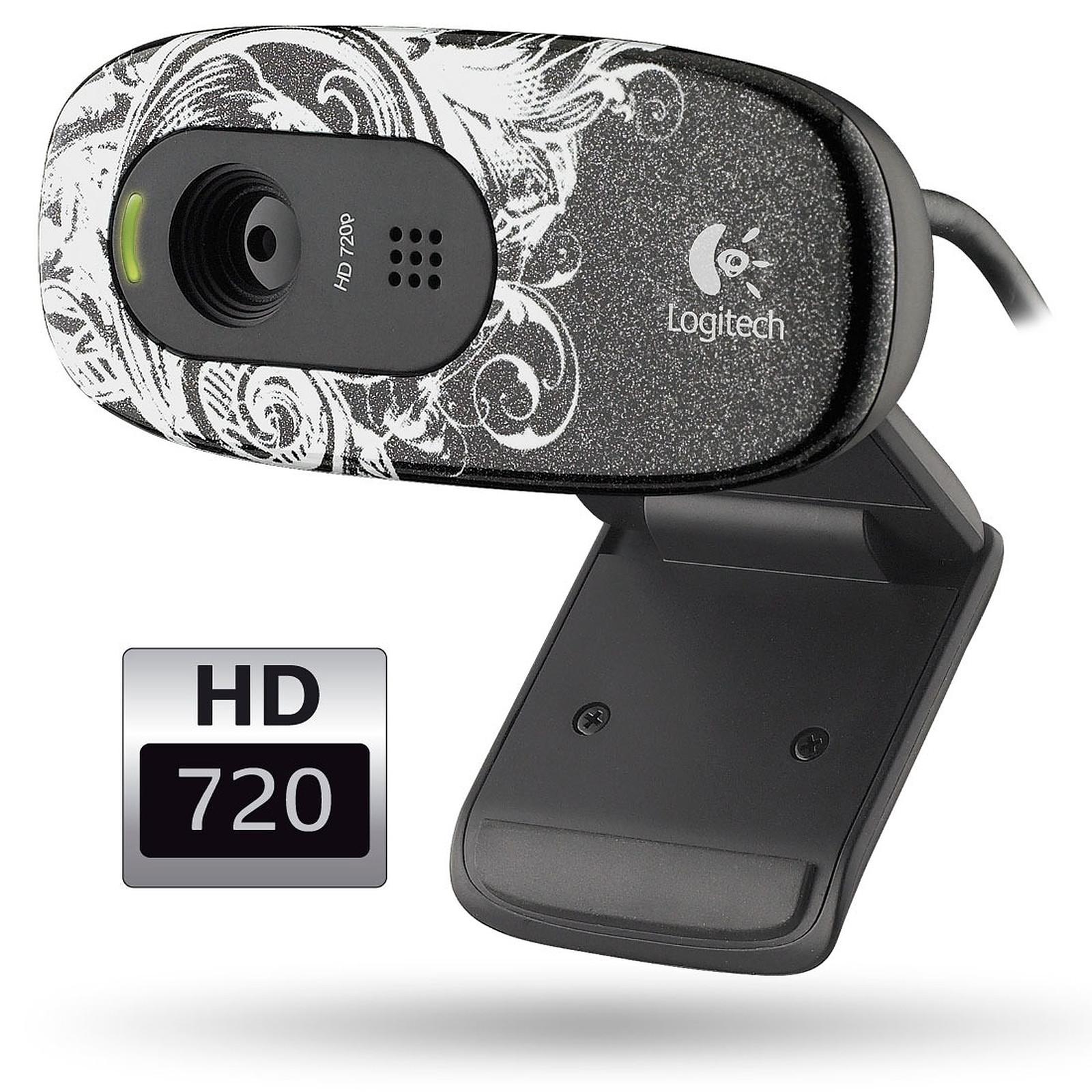 Logitech HD Webcam C270 - Fleur Dark