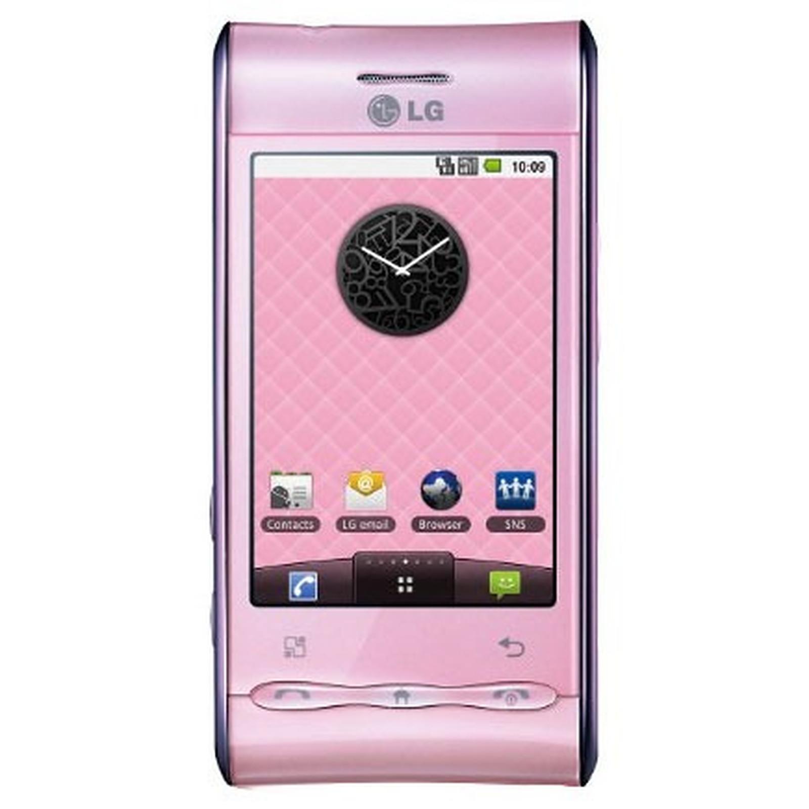 LG GT540 Optimus Rose